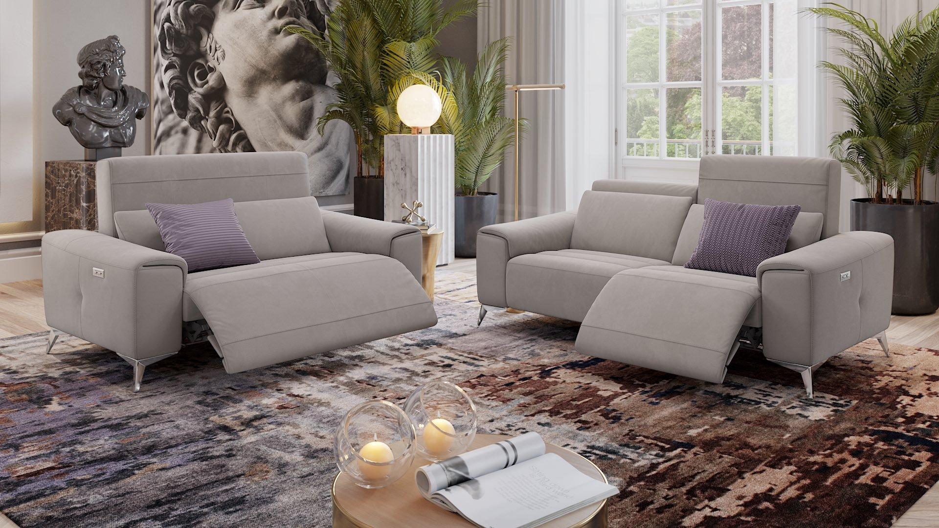 Stoff 2-Sitzer Sofa Mini BELLA