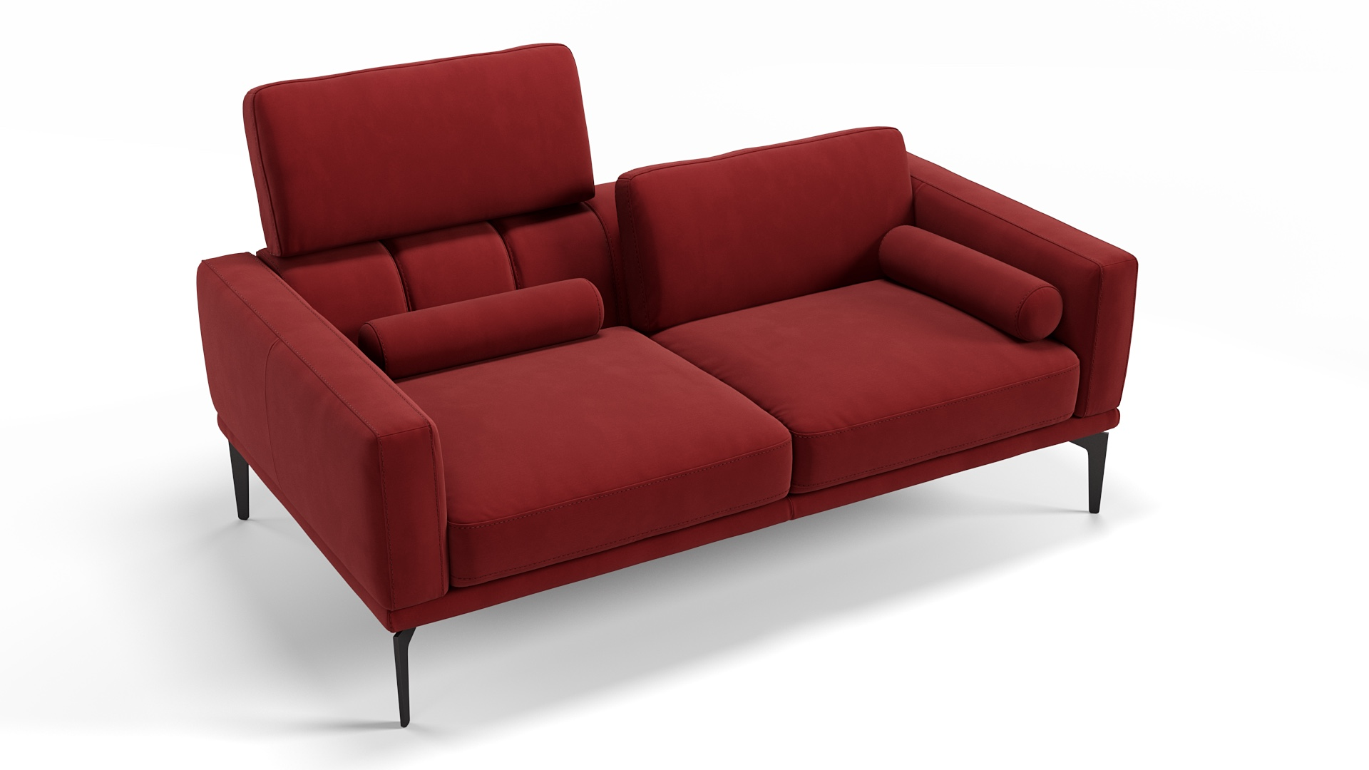 Stoff 2-Sitzer Sofa SALERNO