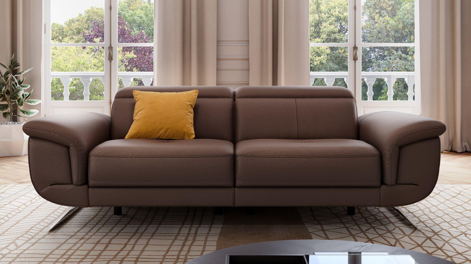 Leder 2-Sitzer Sofa MATRICE