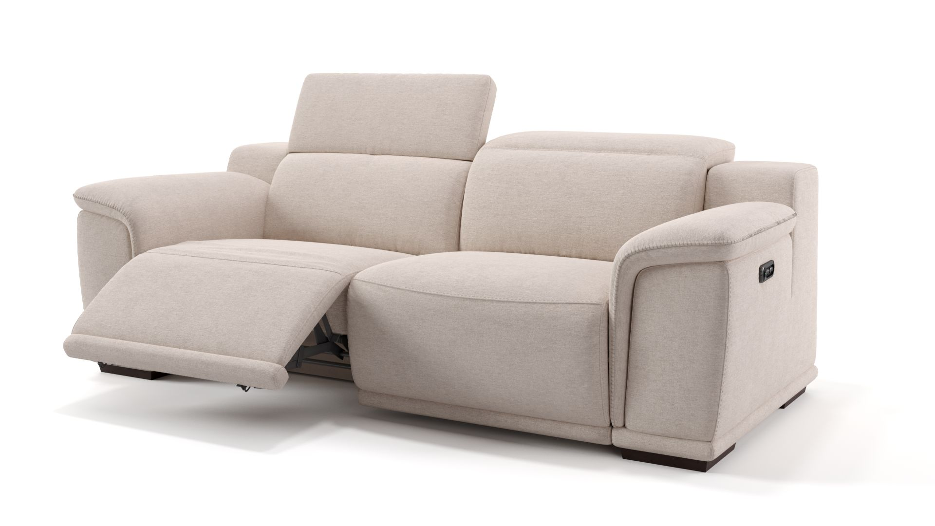 Stoff 3-Sitzer Sofa MONTEFINO