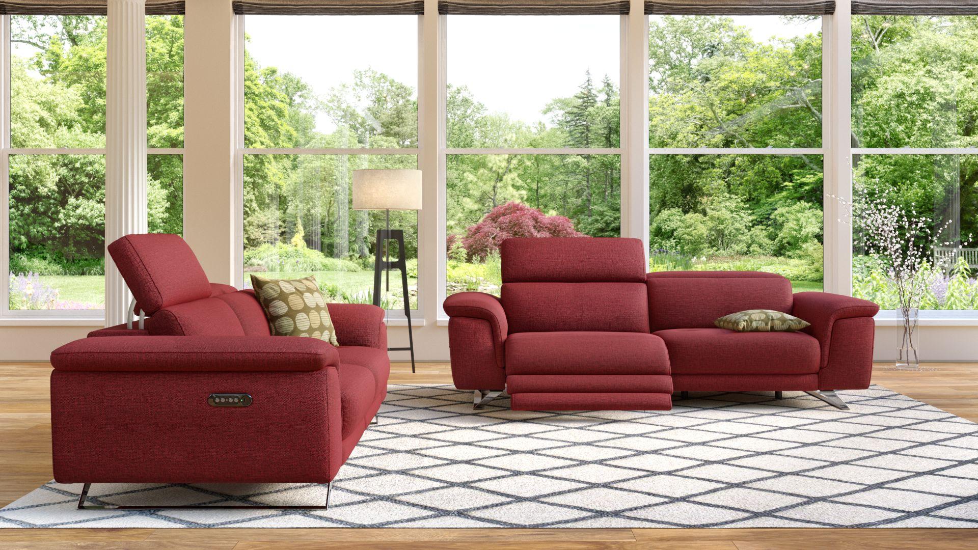 Stoff 2-Sitzer Sofa SERRI