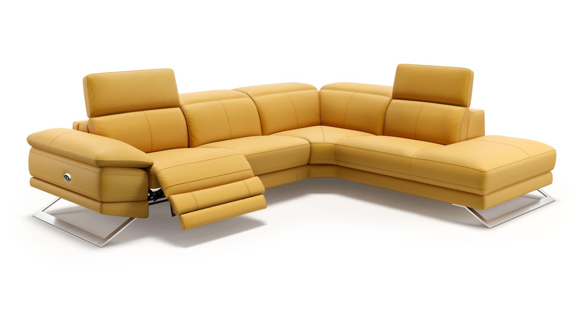 Designer Polsterecke Mit Relaxfunktion Sofanella