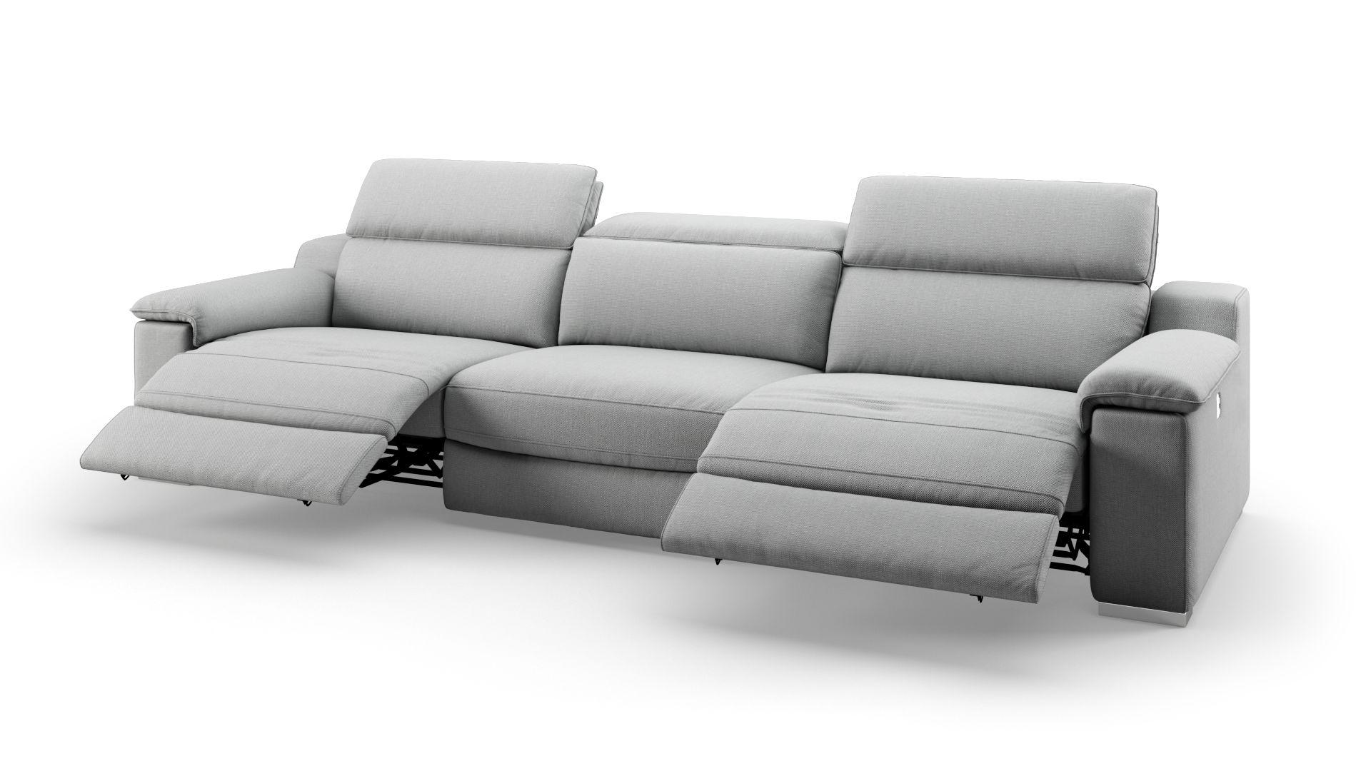 Stoff 3-Sitzer Sofa XXL MACELLO
