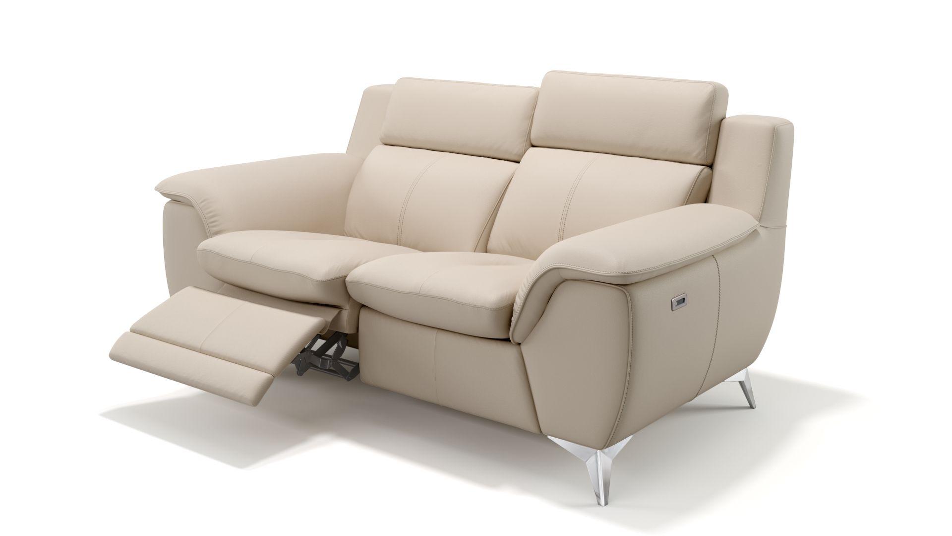 Leder 2-Sitzer Sofa AVERSA