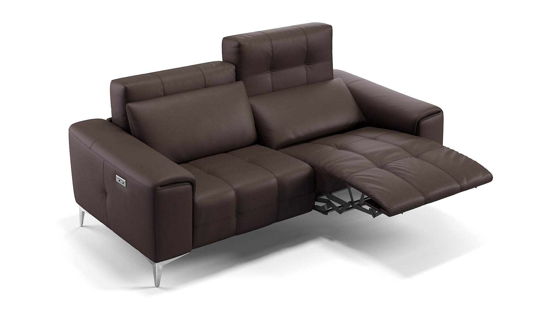 Leder 2-Sitzer Sofa SALENTO