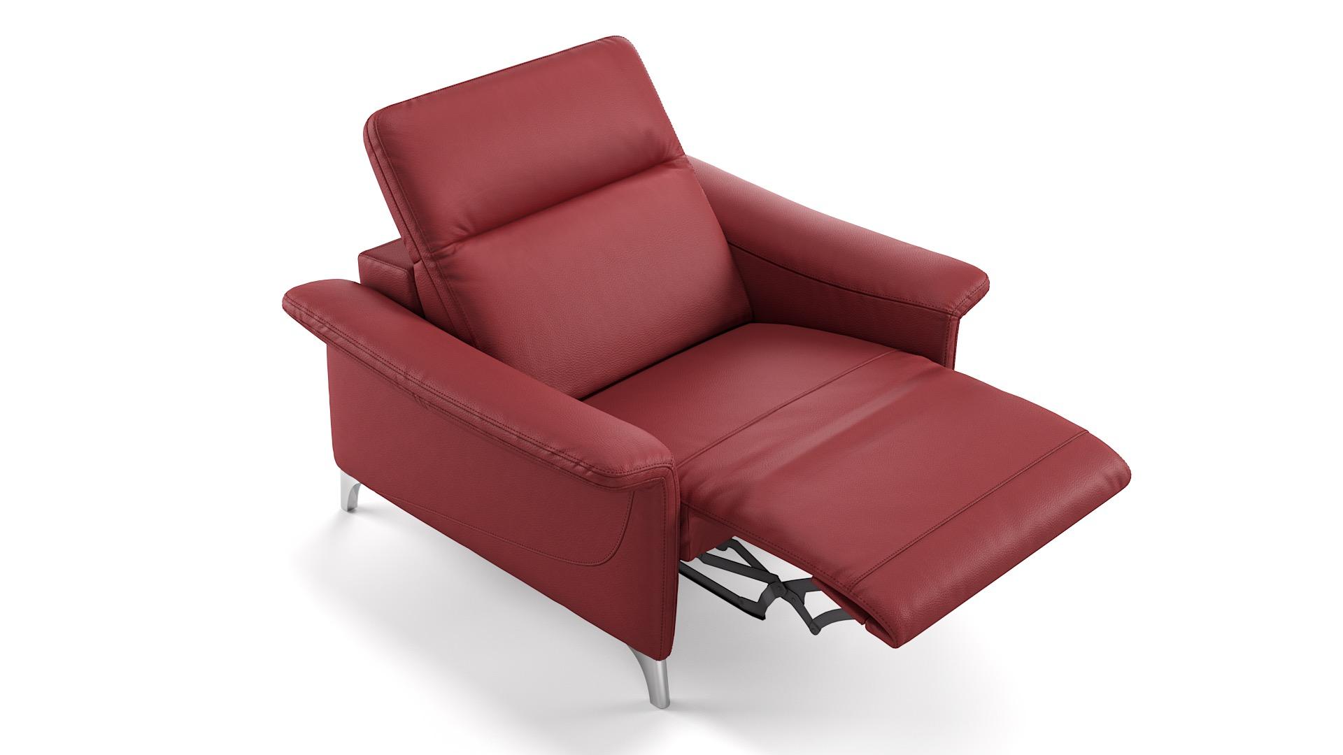 Leder 1-Sitzer SAMANA