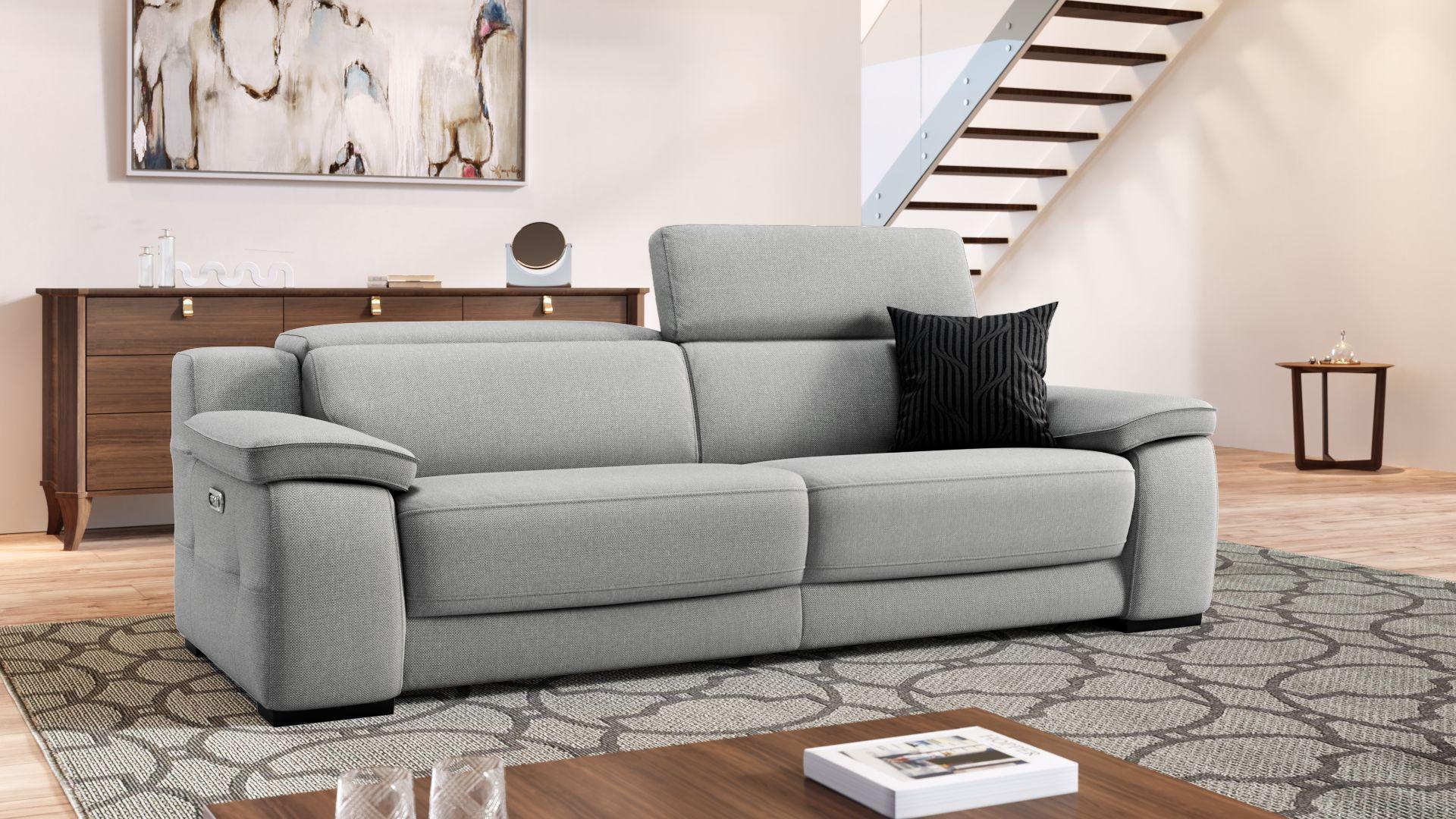 Stoff 3-Sitzer Sofa SAVELLI