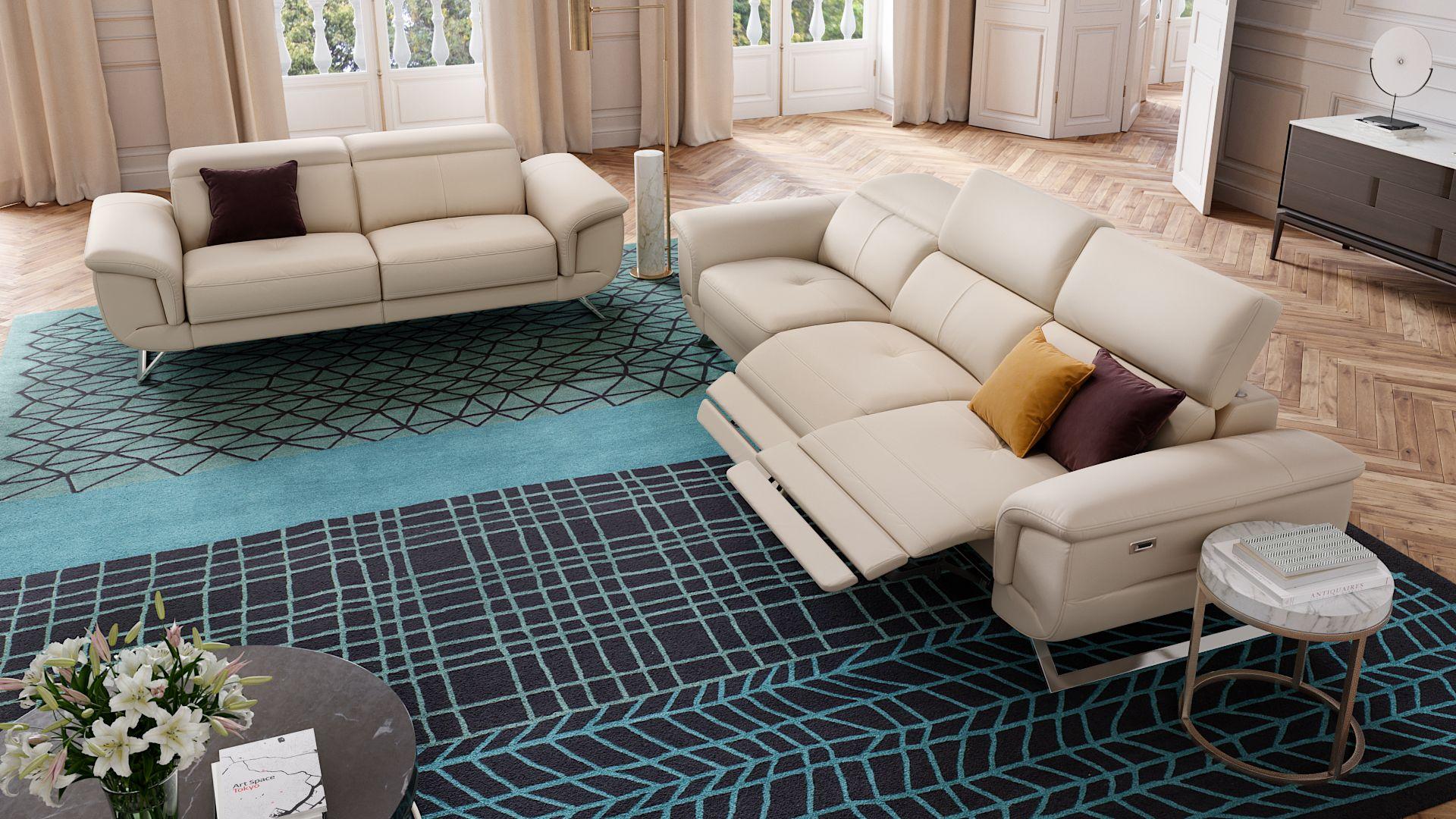 Leder 3-Sitzer Sofa MATRICE