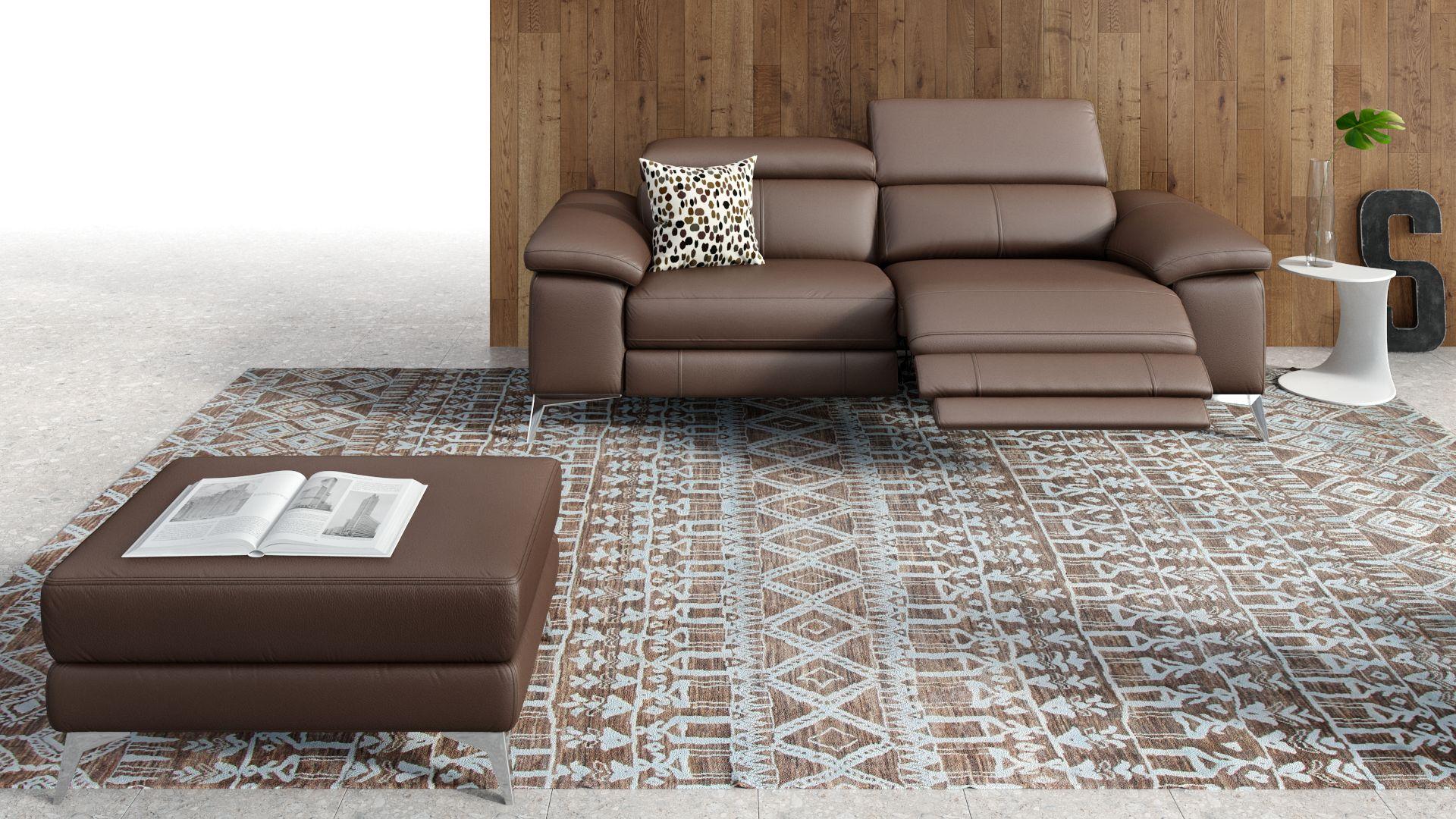 Leder 3-Sitzer Sofa MILANO
