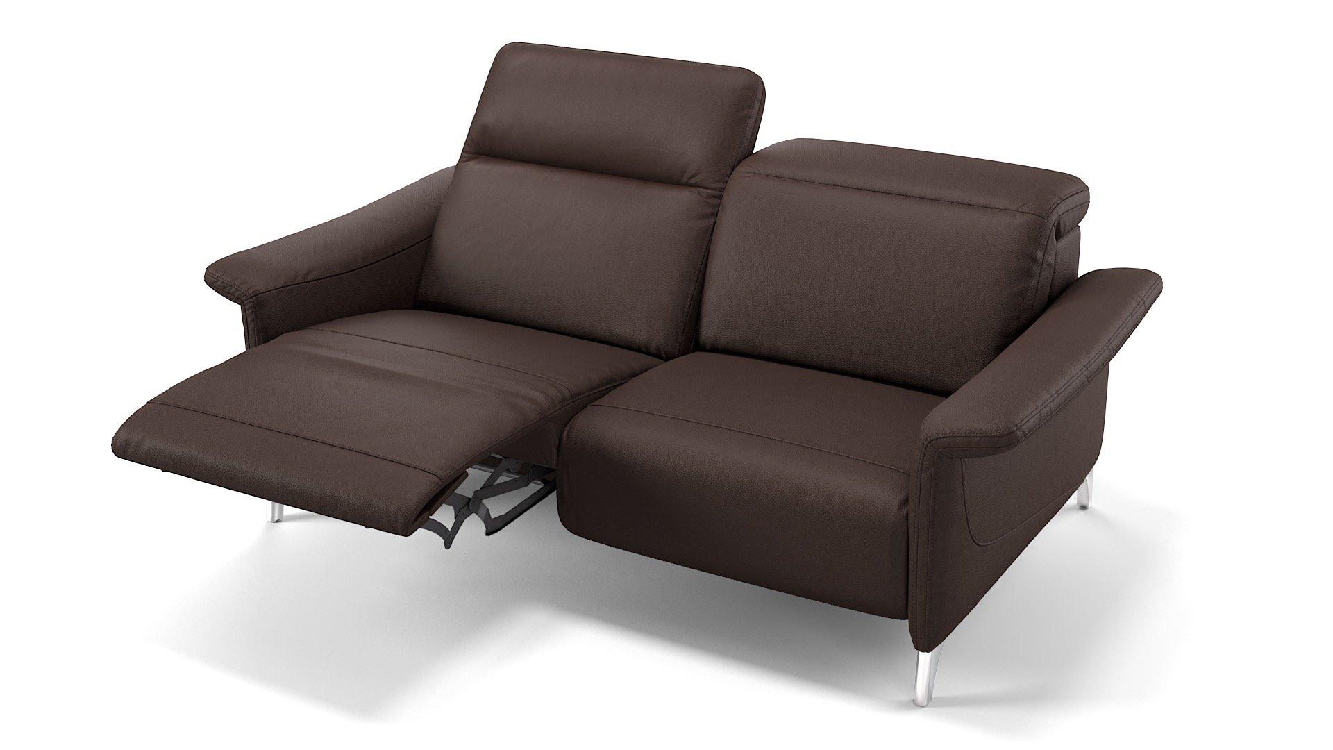 Leder 2-Sitzer SAMANA