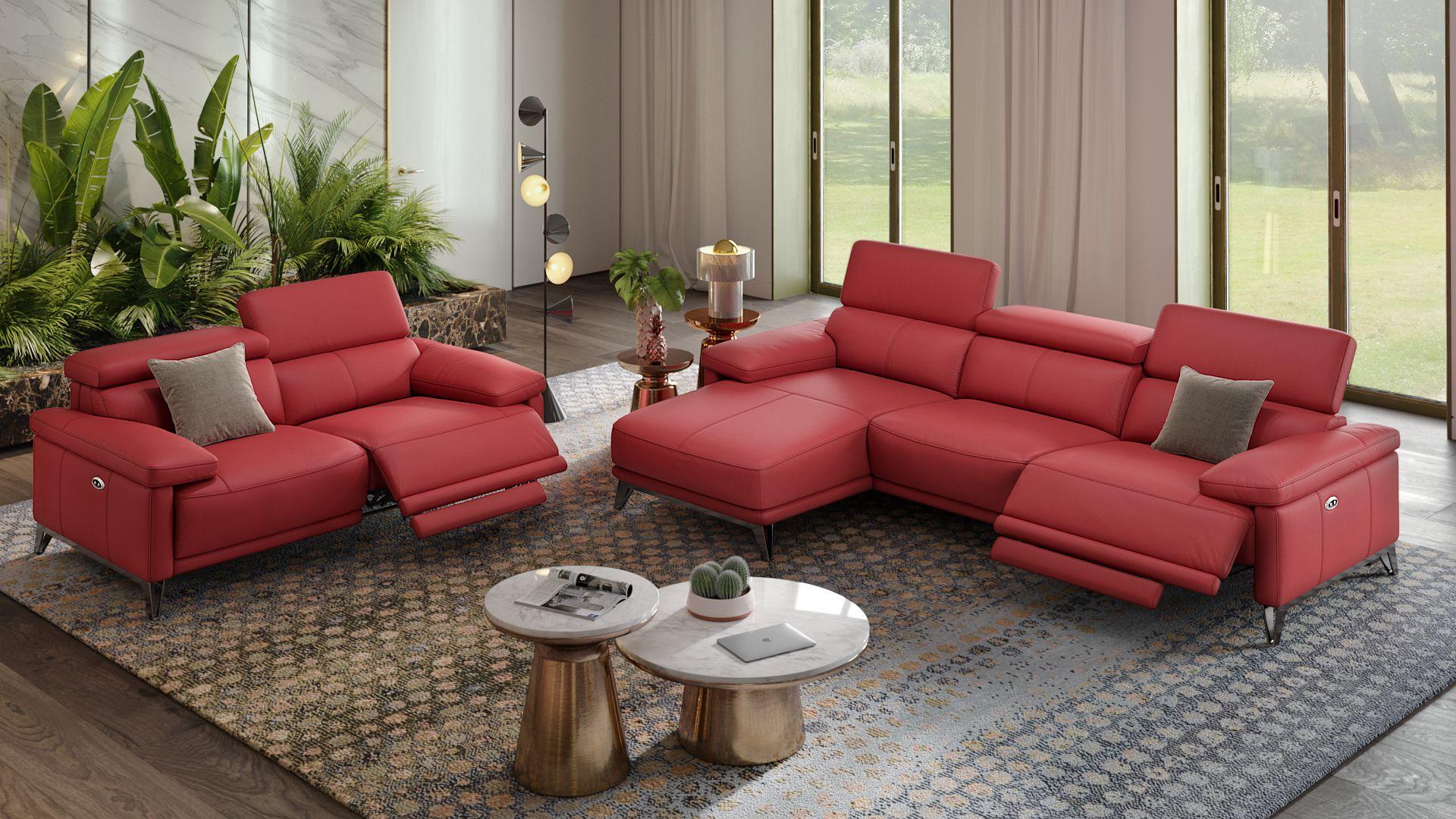 Leder 2-Sitzer Sofa CELANO
