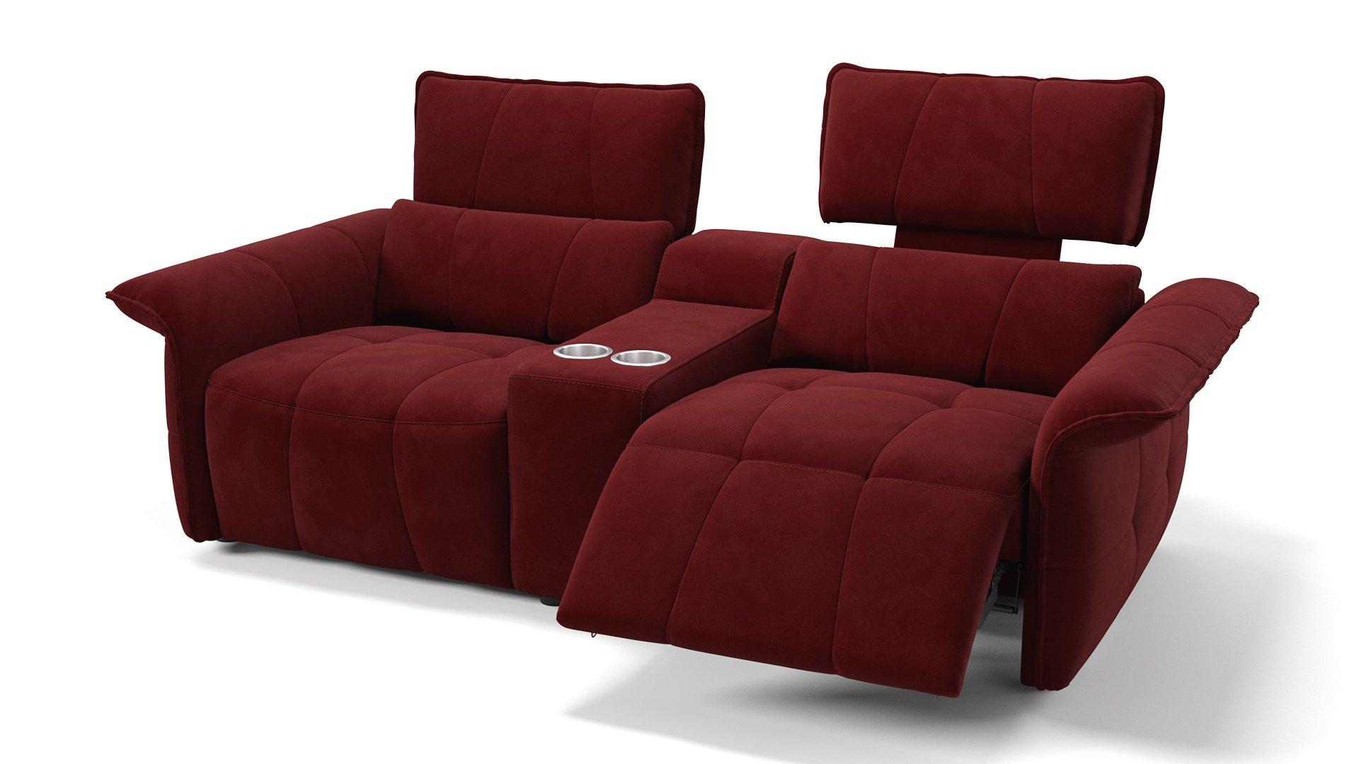 Stoff 2-Sitzer Kinosofa ADRIA