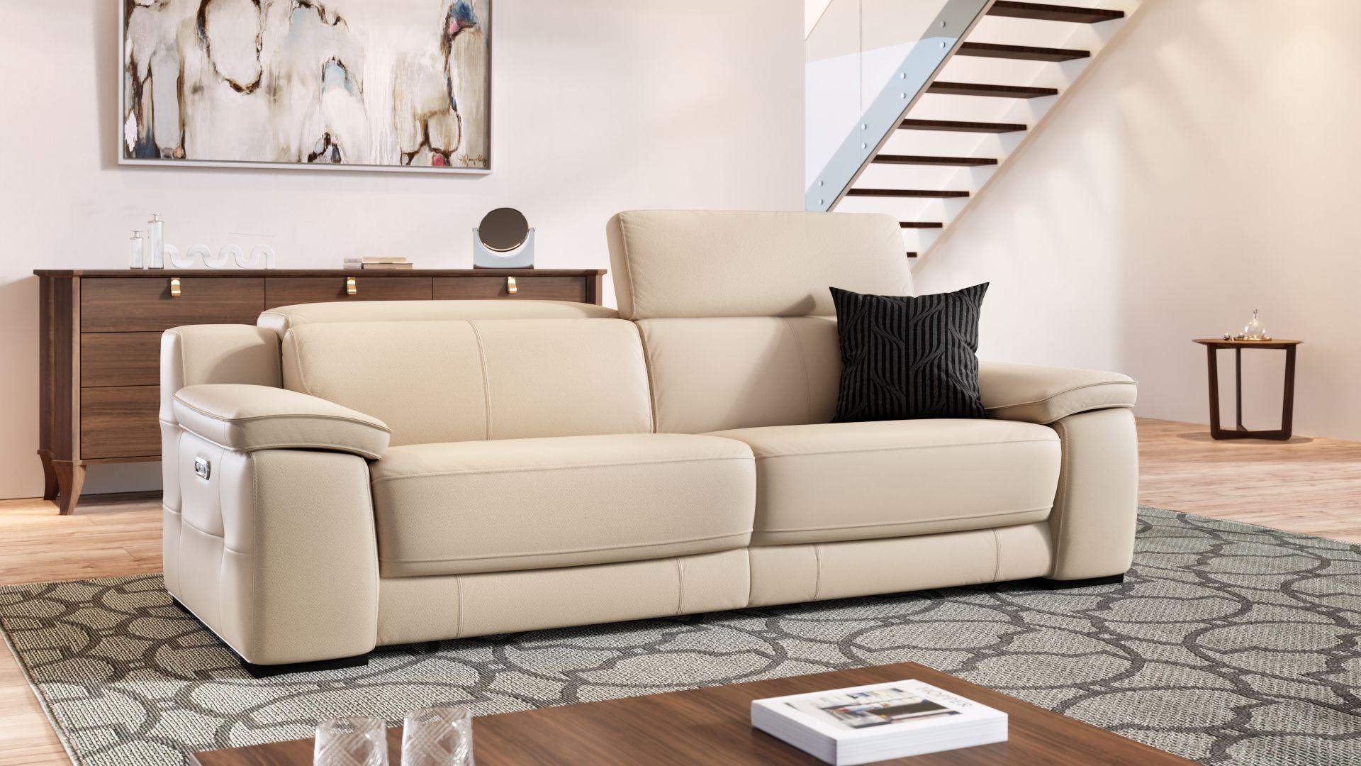 Leder 3-Sitzer Sofa SAVELLI