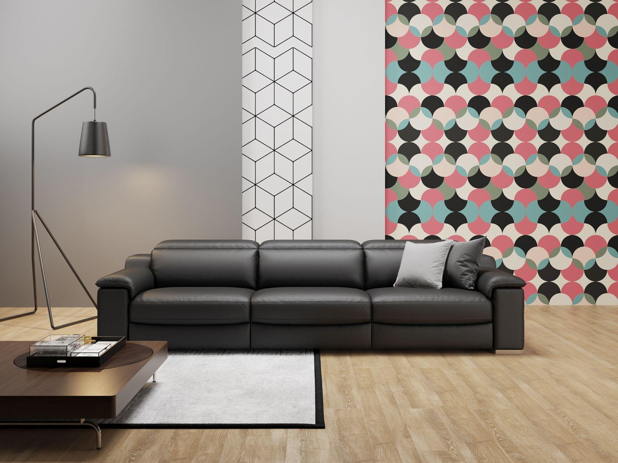 Leder 3-Sitzer Sofa XXL MACELLO