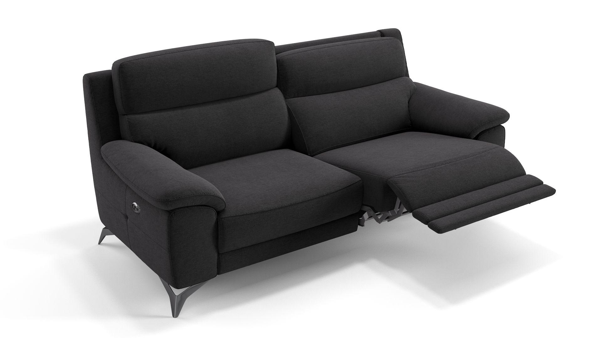 Stoff 3-Sitzer Sofa LANTELLA