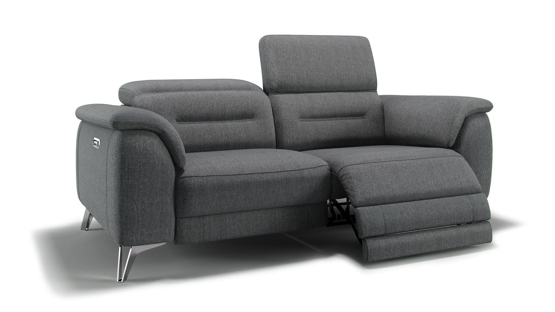 Stoff 2-Sitzer Sofa GANDINO