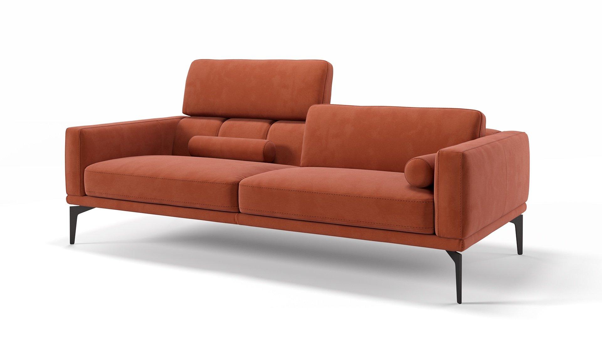 Stoff 3-Sitzer Sofa SALERNO