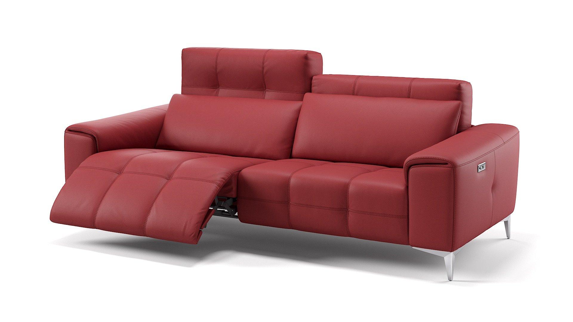 Leder 3-Sitzer Sofa SALENTO