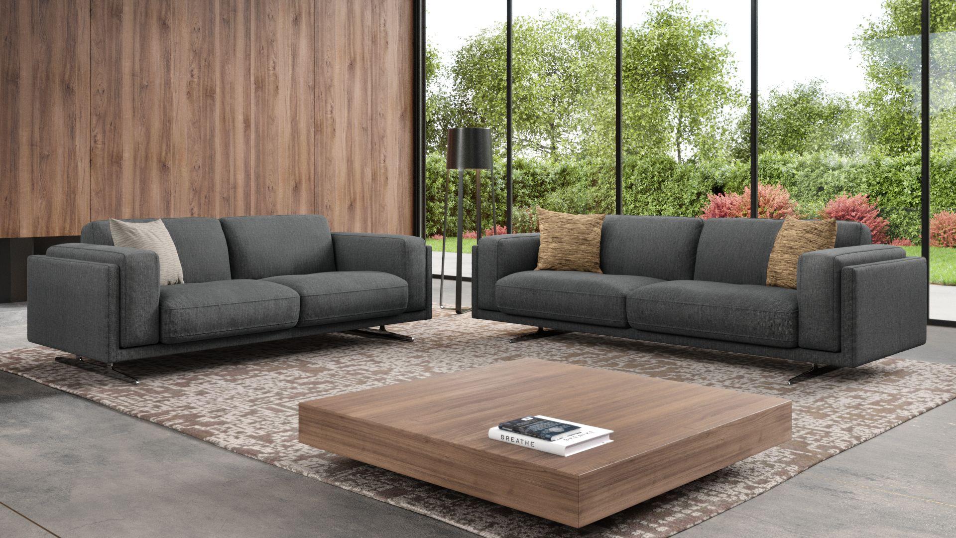 Stoff 2-Sitzer Sofa BELLANTE