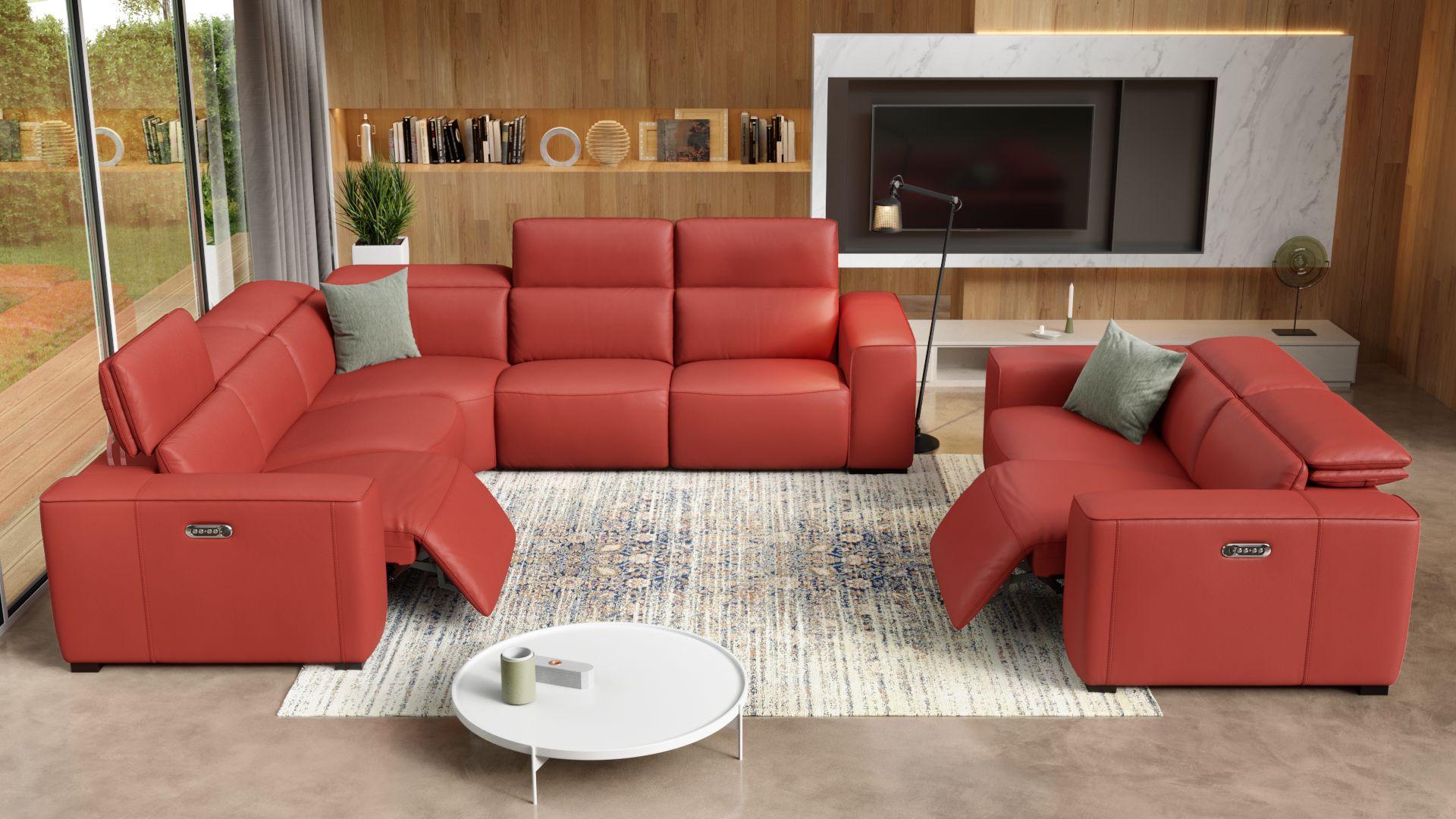 Leder 2-Sitzer Sofa BINETTO