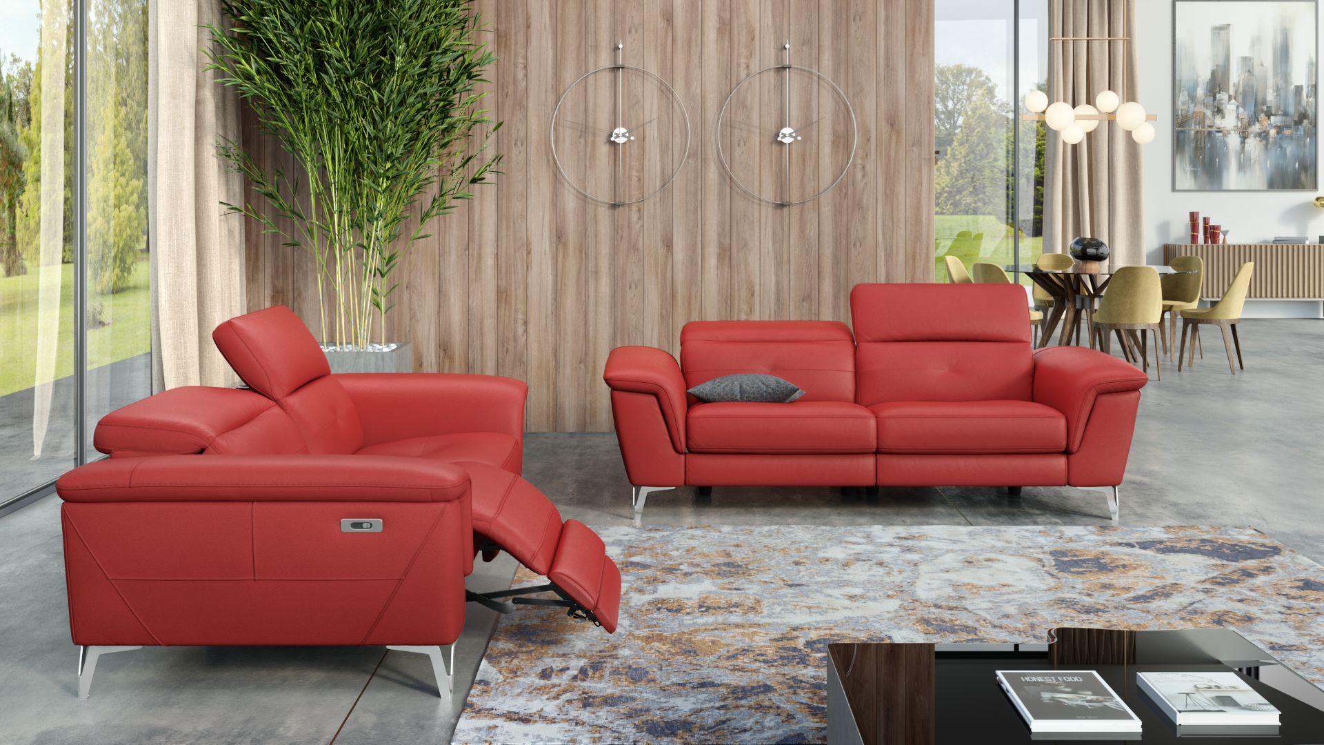 Leder 3-Sitzer Sofa LUPARA