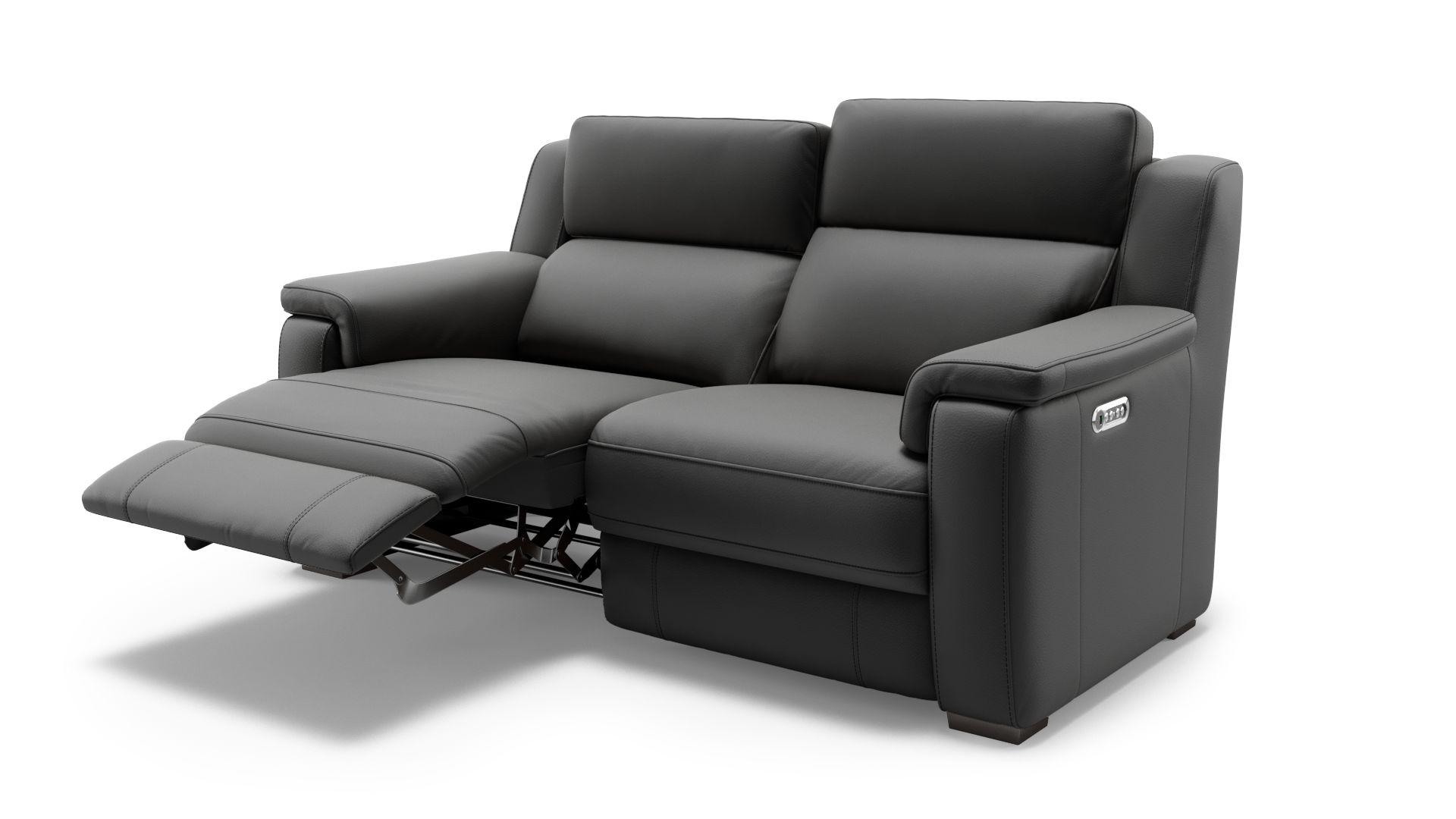 Leder 2-Sitzer Sofa LEVATE