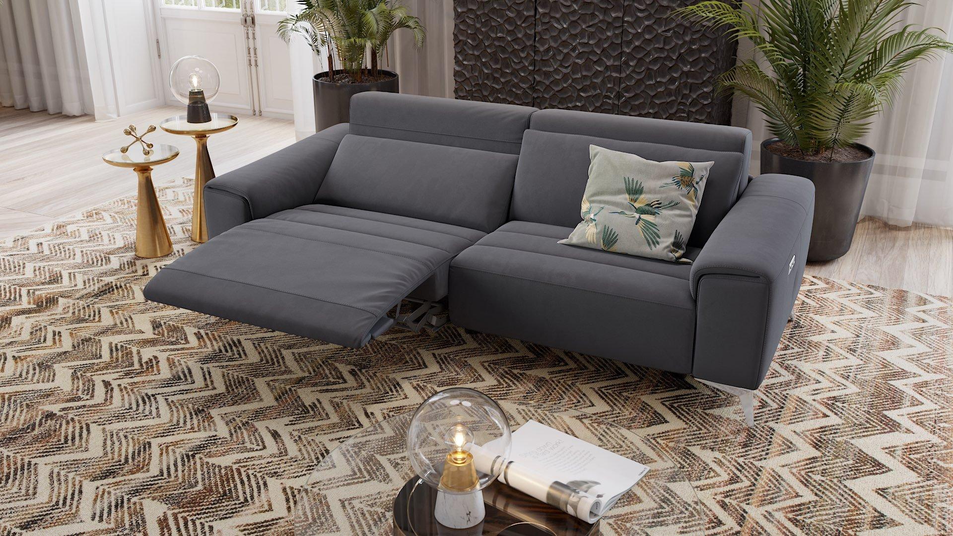 Stoff 3-Sitzer Sofa BELLA