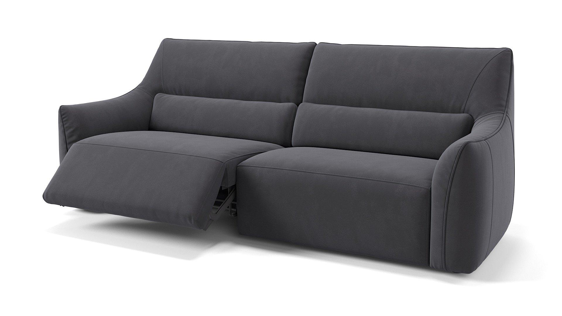 Stoff 3-Sitzer PESARO