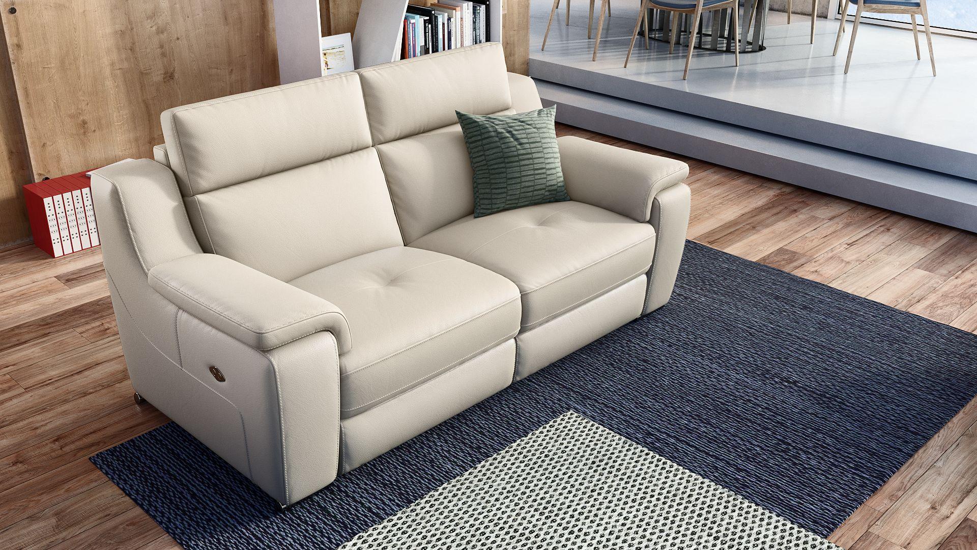 Leder 2-Sitzer Sofa VERNOLE