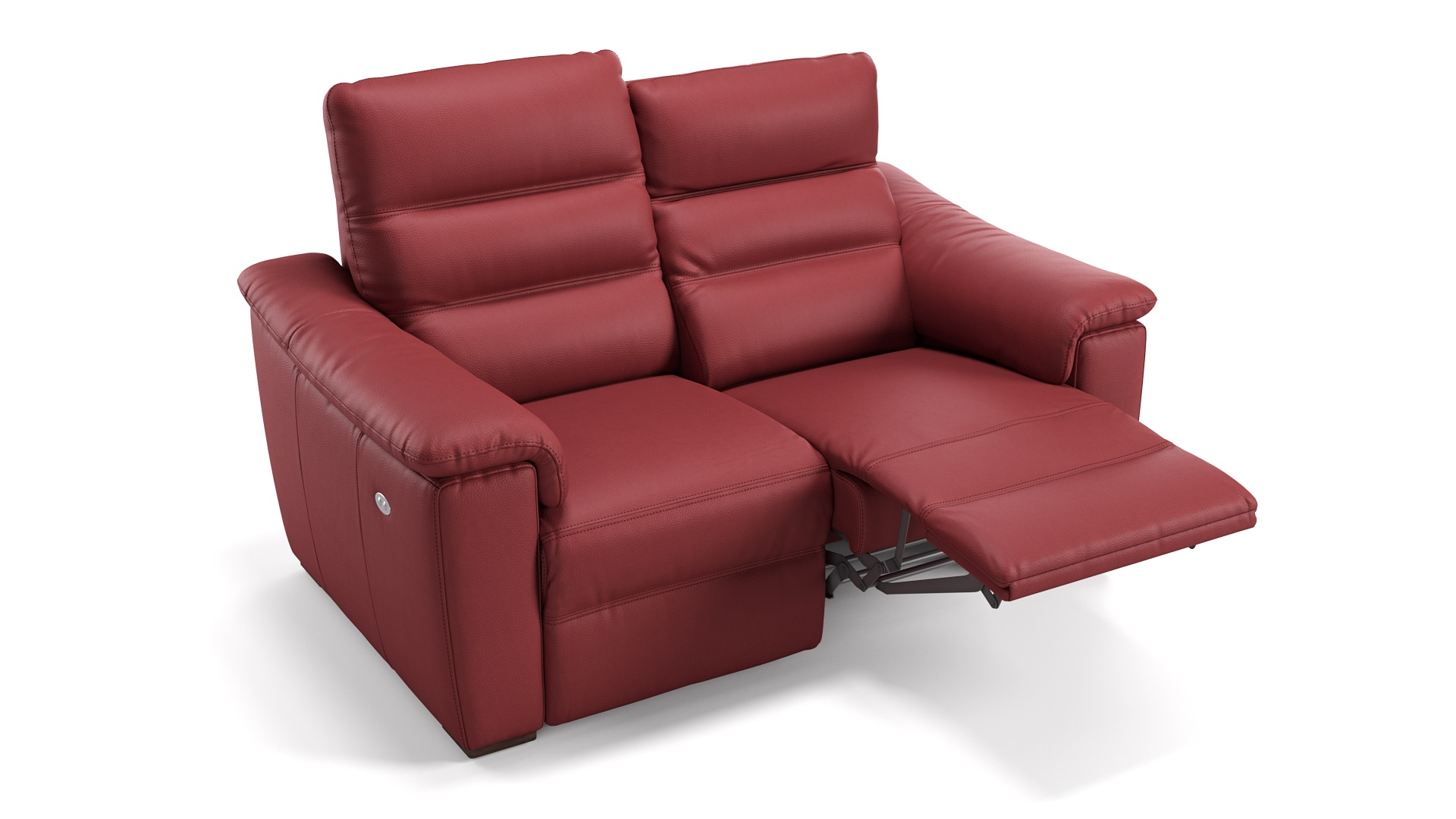 Leder 2-Sitzer CREMONA