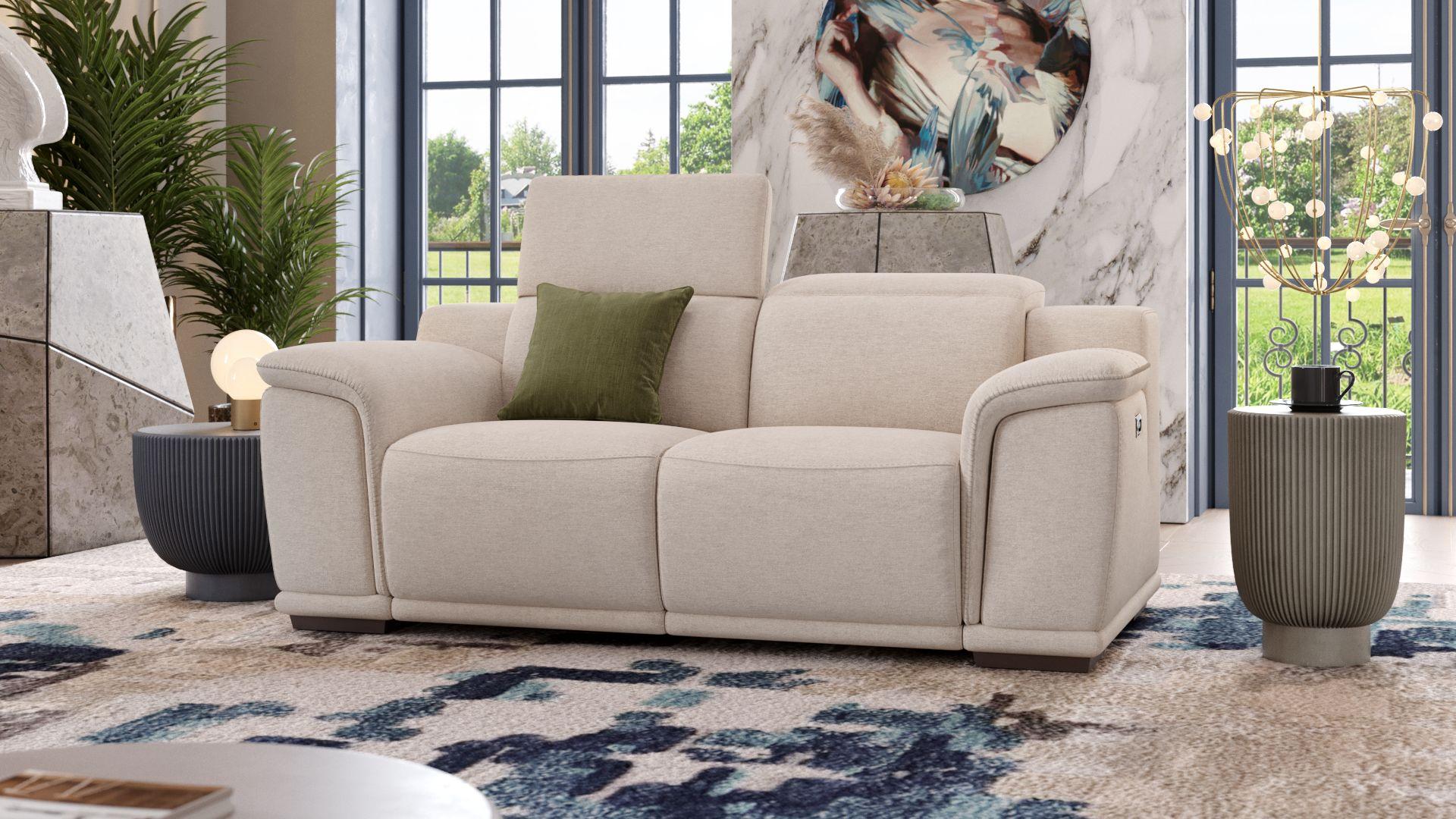 Stoff 2-Sitzer Sofa MONTEFINO