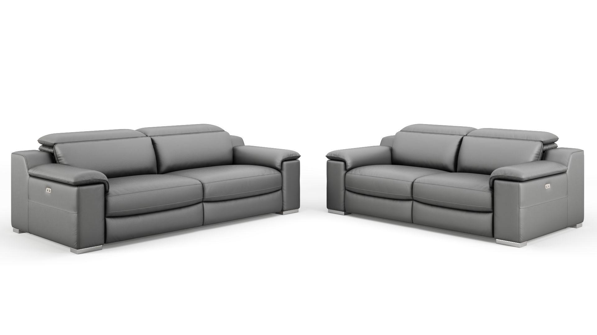 Leder 2-Sitzer Sofa MACELLO