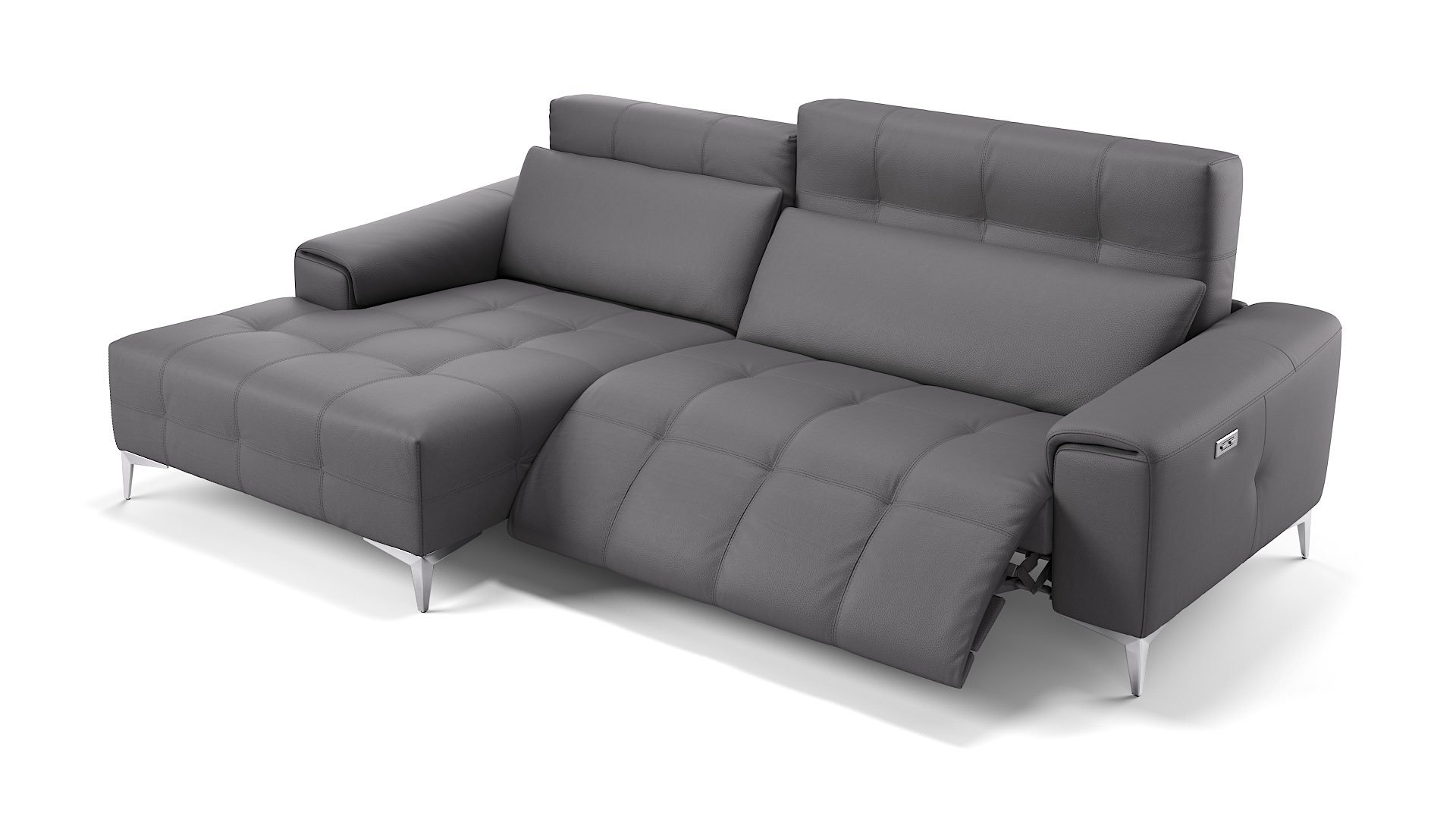 Leder Ecksofa Mini SALENTO