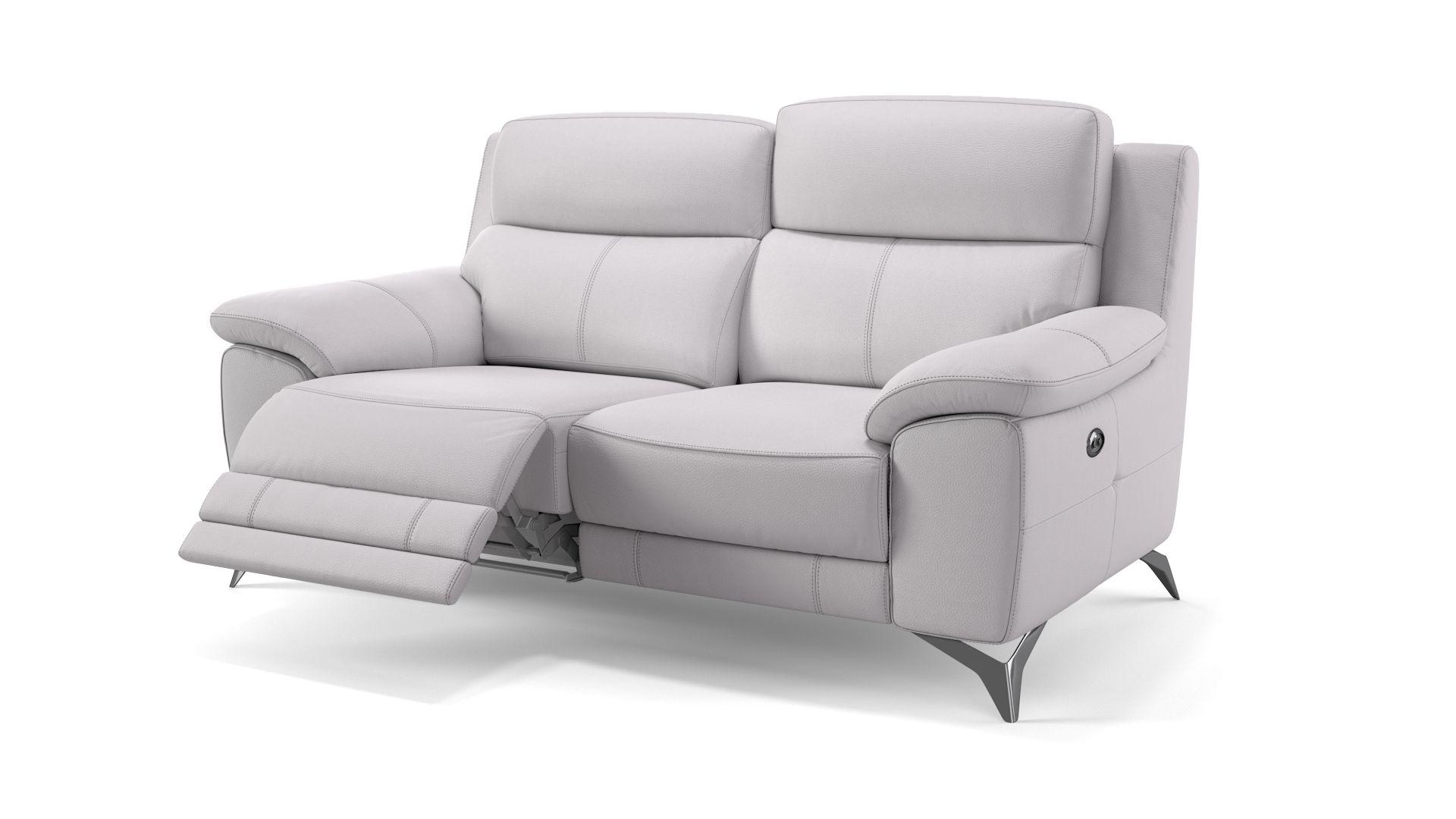 Leder 2-Sitzer Sofa LANTELLA