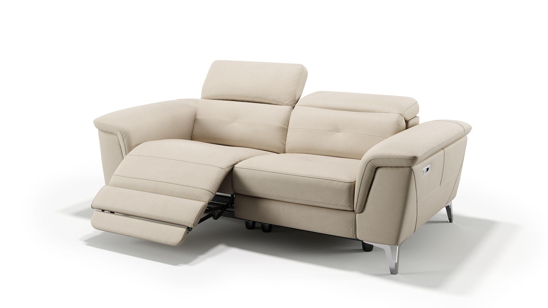 Leder 2-Sitzer Sofa LUPARA