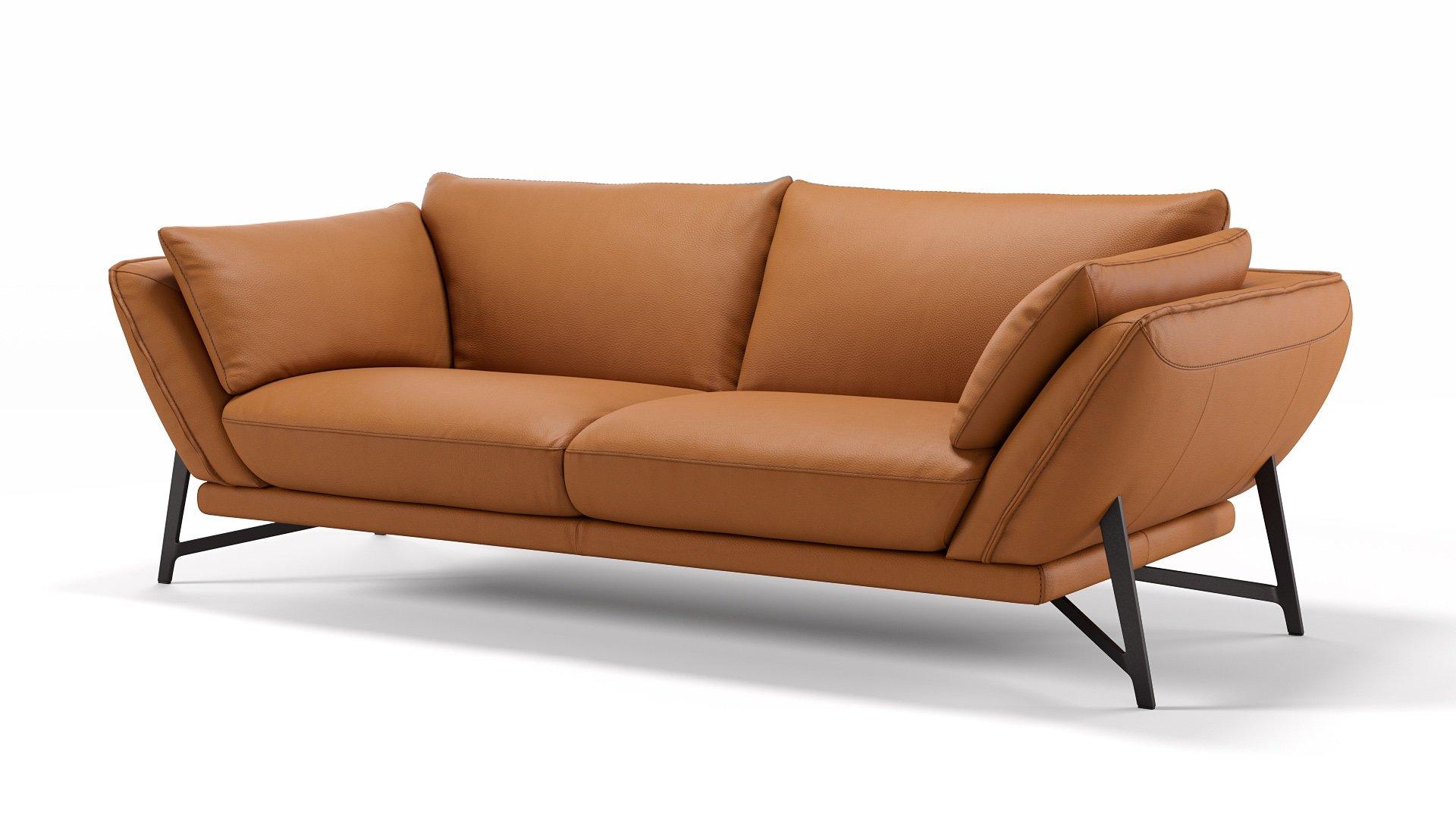 Leder 3-Sitzer Sofa ESTELLA