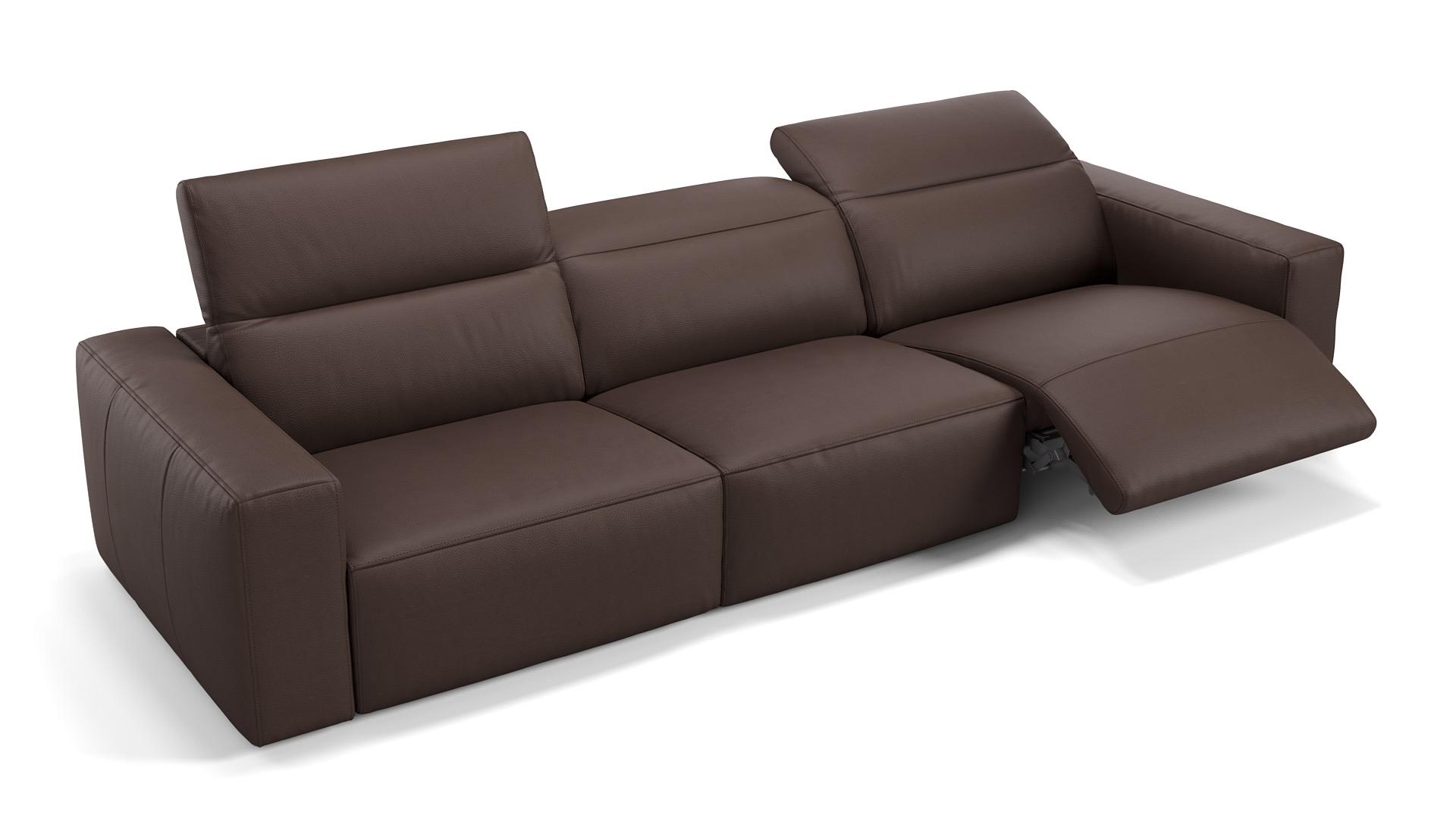 Leder 3-Sitzer XXL LENOLA