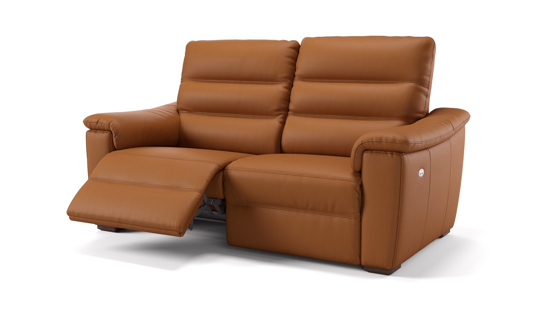 Leder 3-Sitzer CREMONA