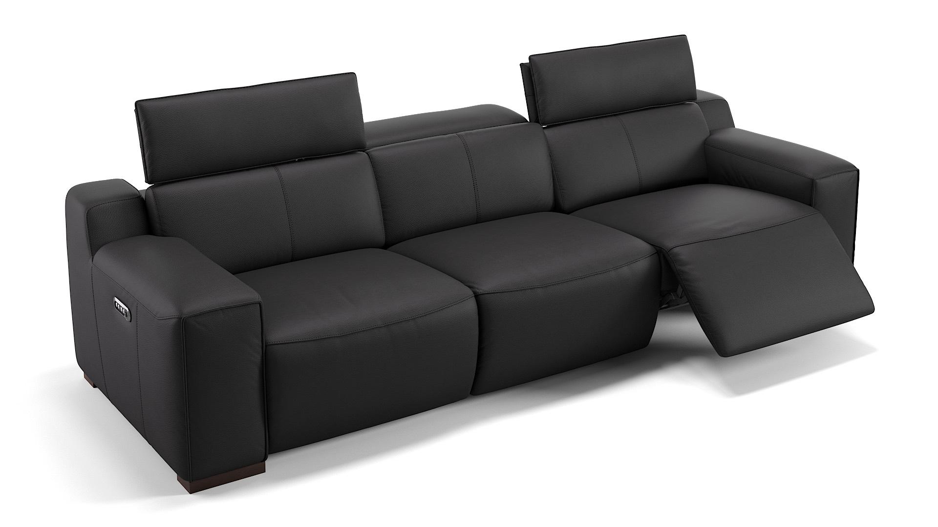 Leder 3-Sitzer Sofa XXL LORETO