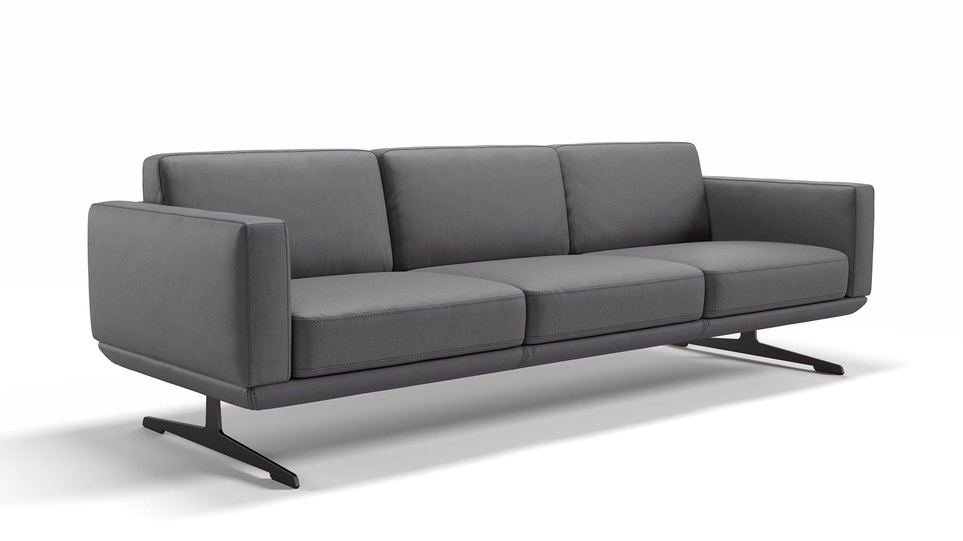 Leder 3-Sitzer Sofa XXL MARETO