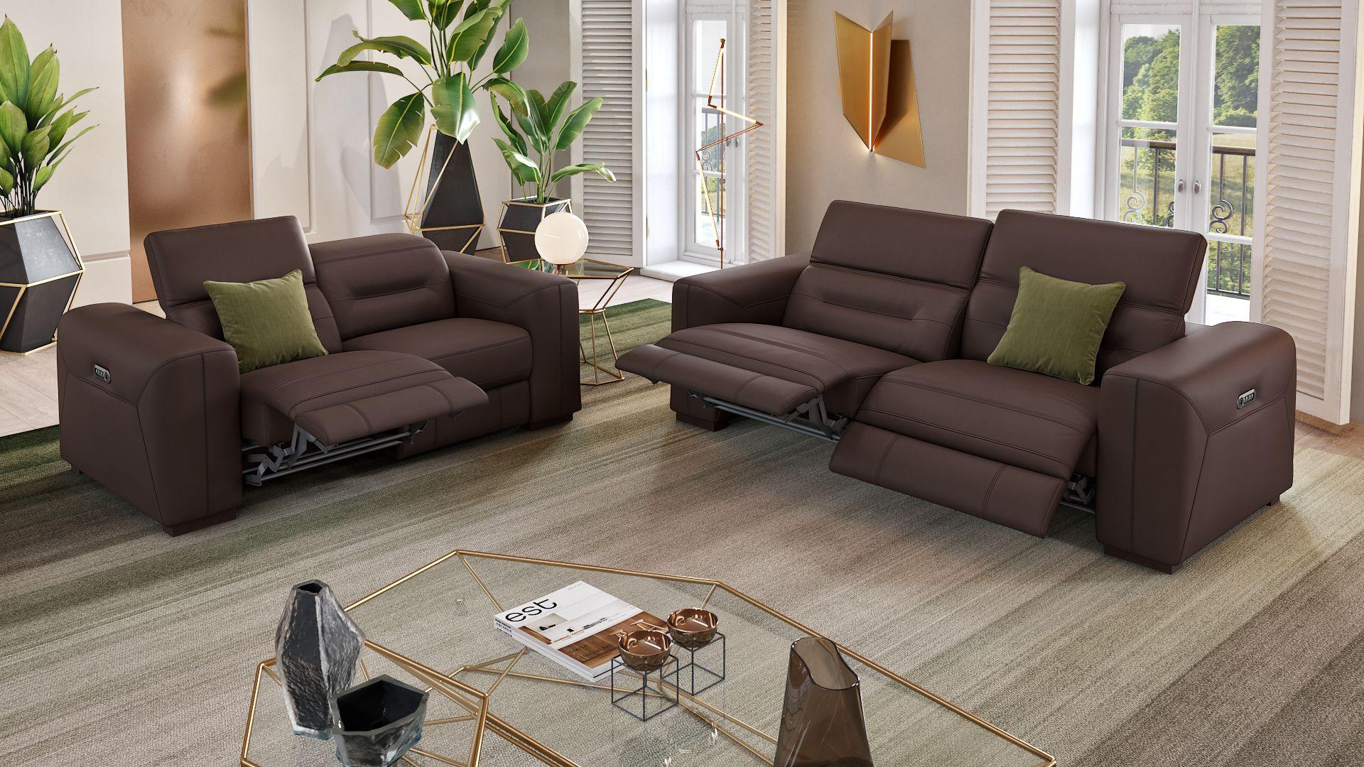 Leder 2-Sitzer Sofa CORATO