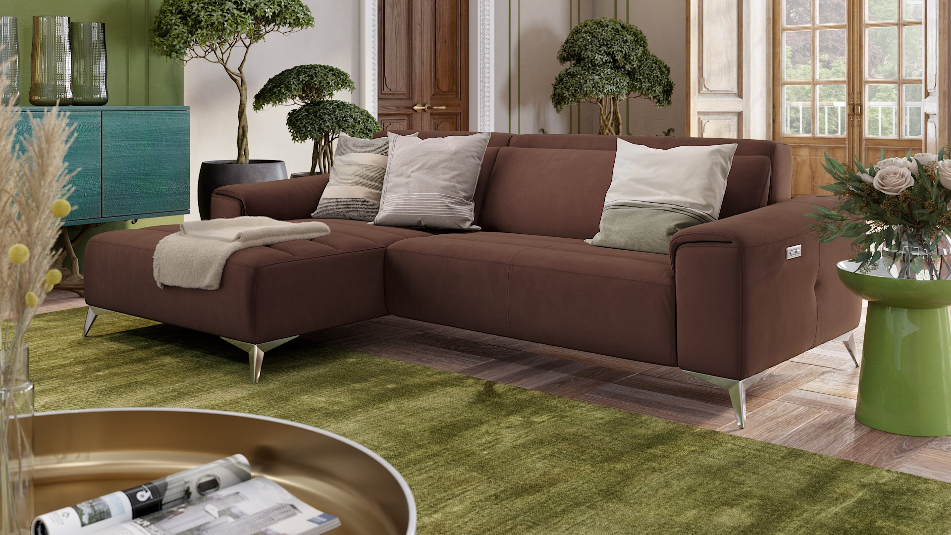 Stoff Ecksofa Mini BELLA