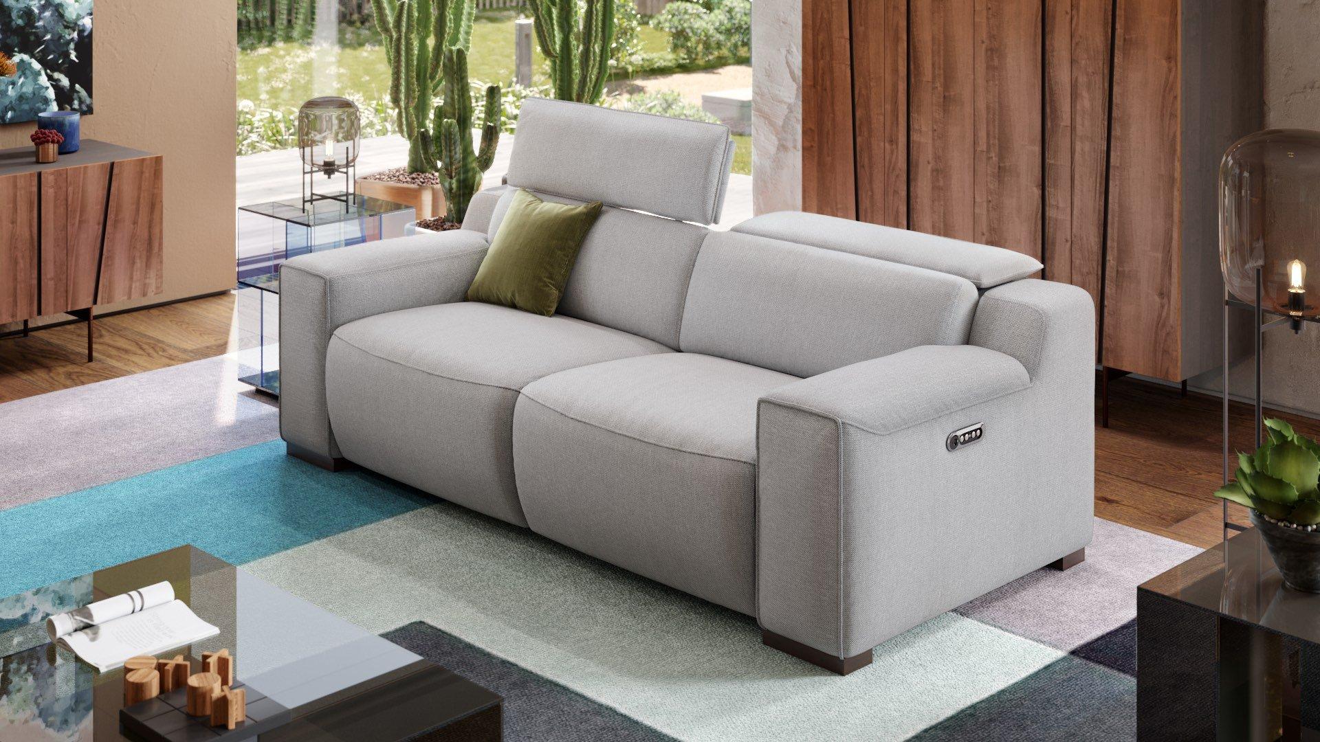 Stoff 3-Sitzer Sofa LORETO