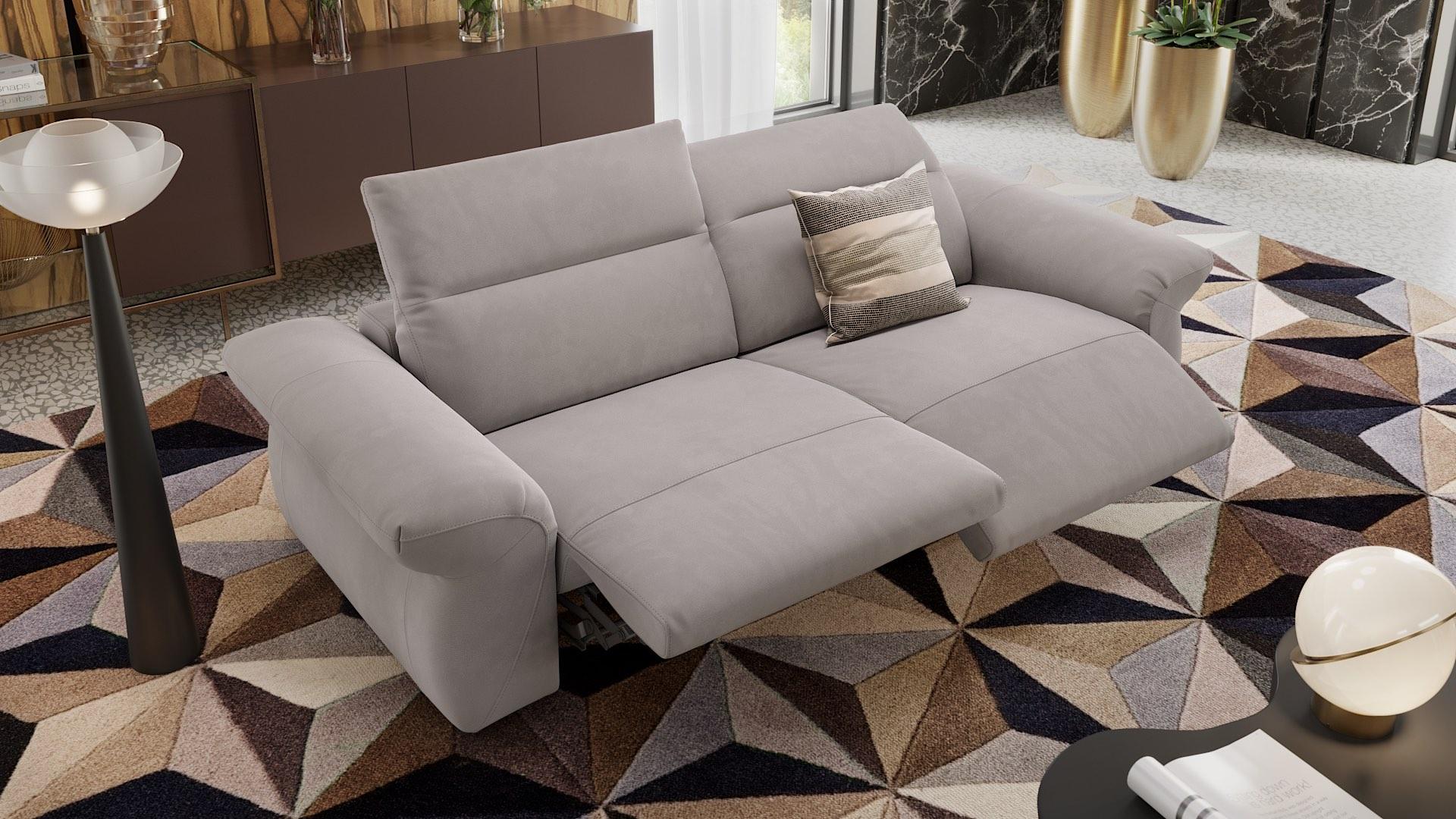 Stoff 3-Sitzer Sofa VENEDIG