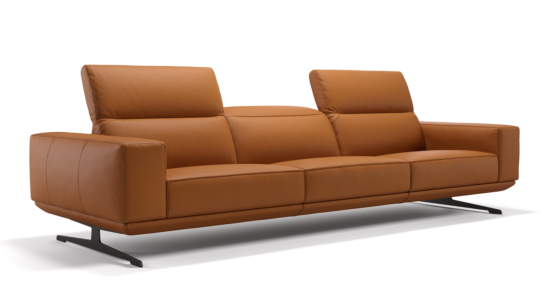 Leder 3-Sitzer Sofa XXL MERANO
