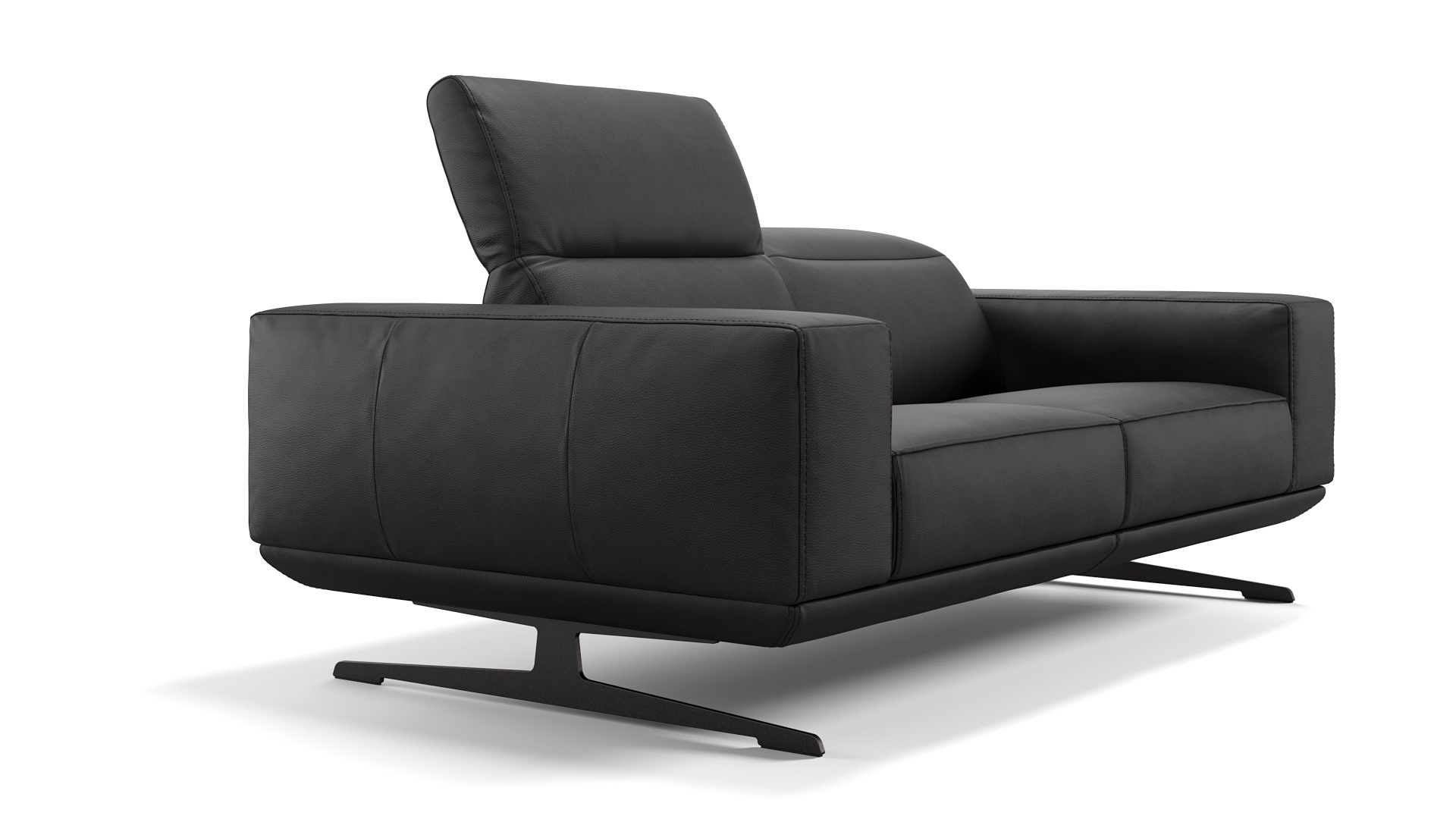 Leder 2-Sitzer Sofa MERANO