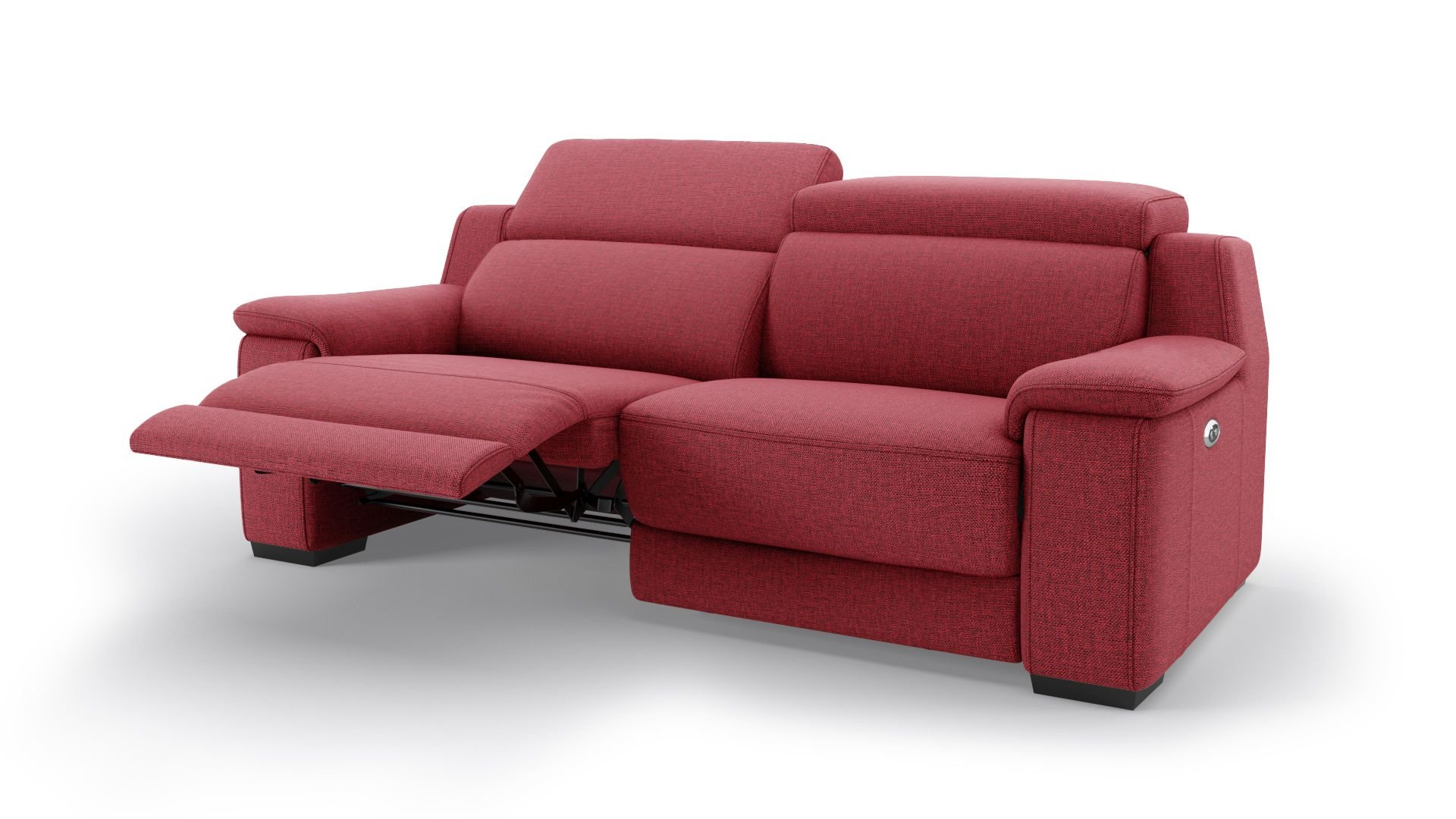 Stoff 2-Sitzer Sofa VALERA