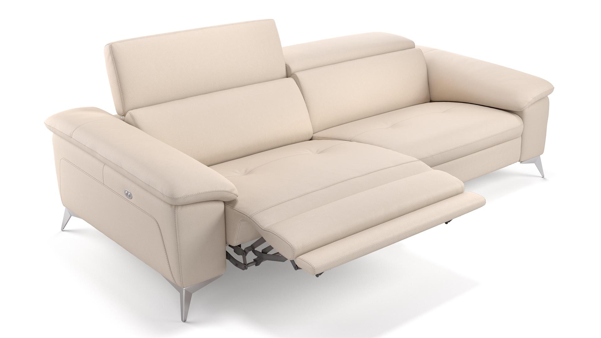 Leder 3-Sitzer STELLA