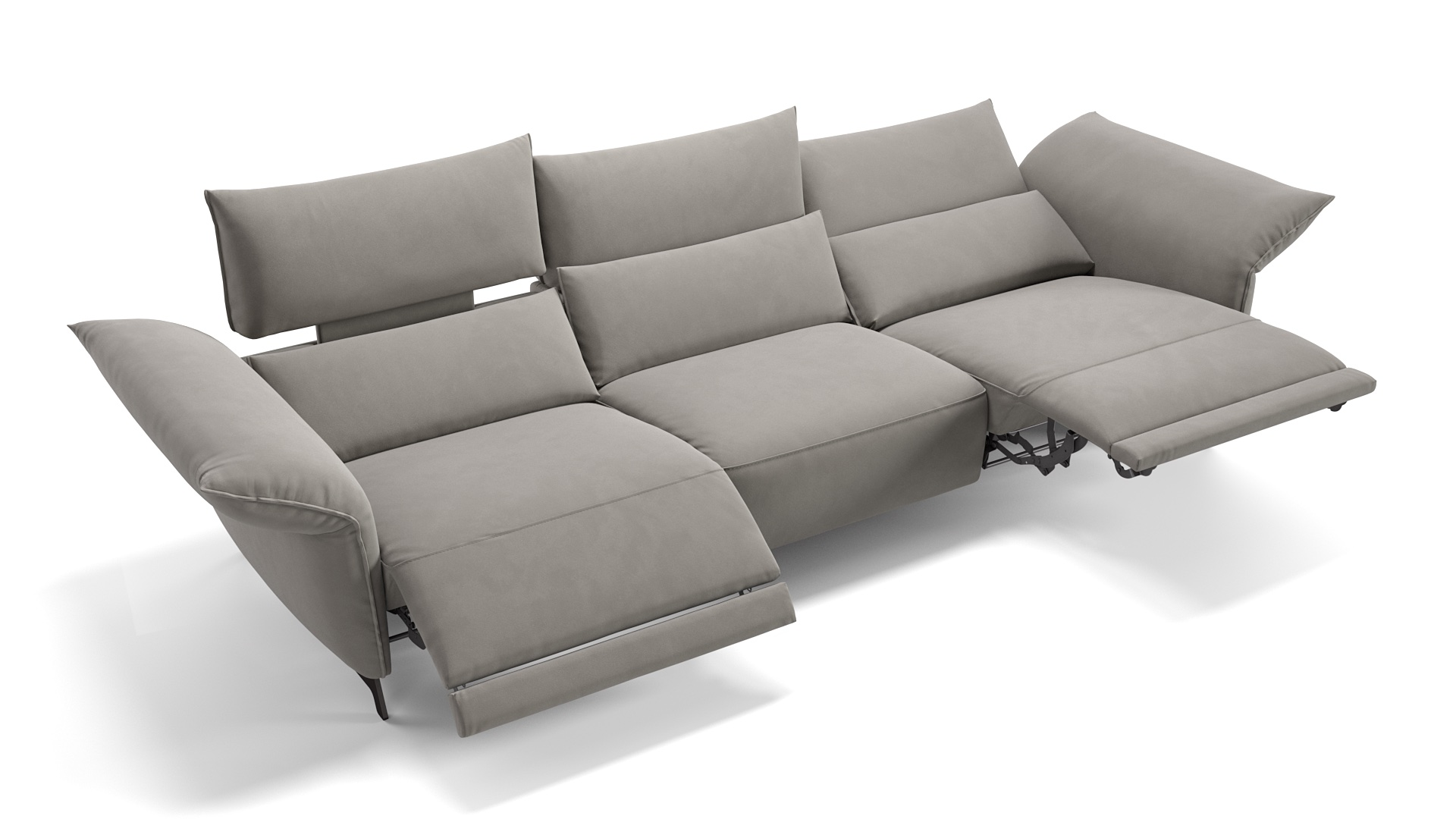 Stoff 3-Sitzer XXL Cuneo