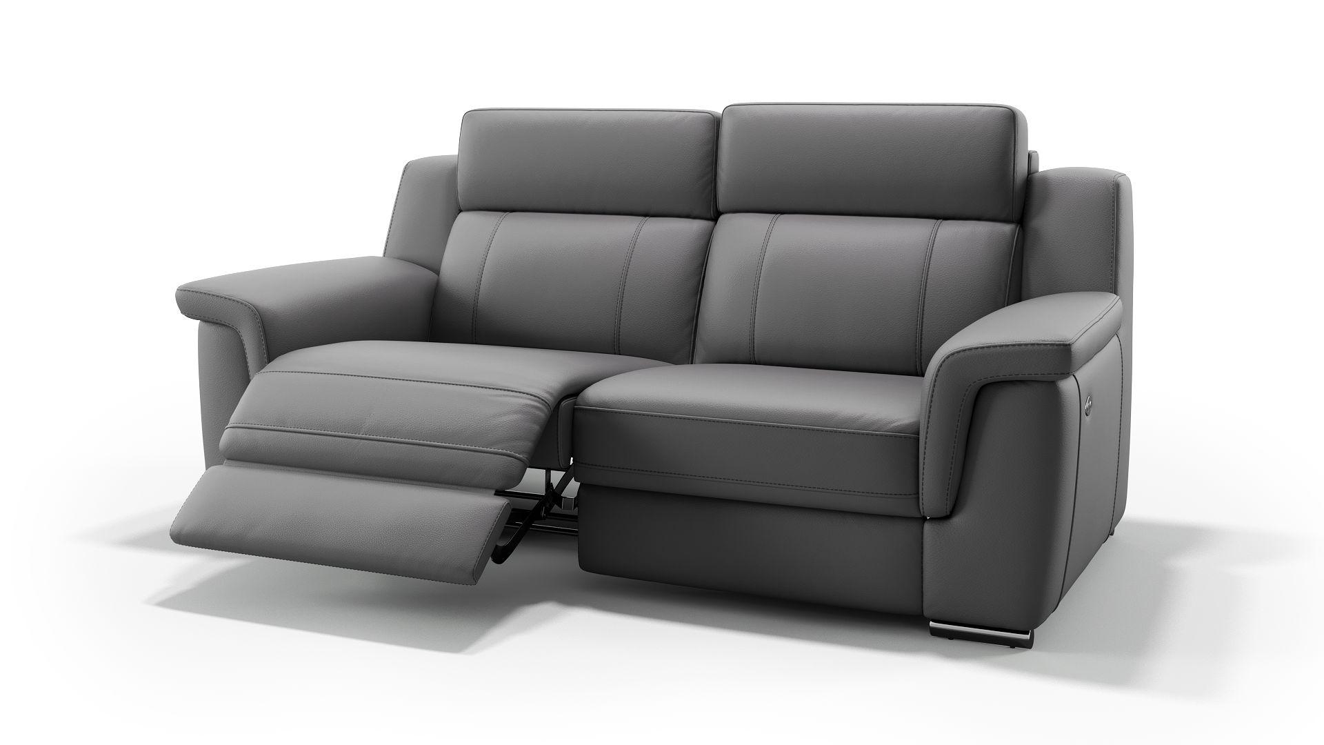Leder 2-Sitzer Sofa TRIVENTO